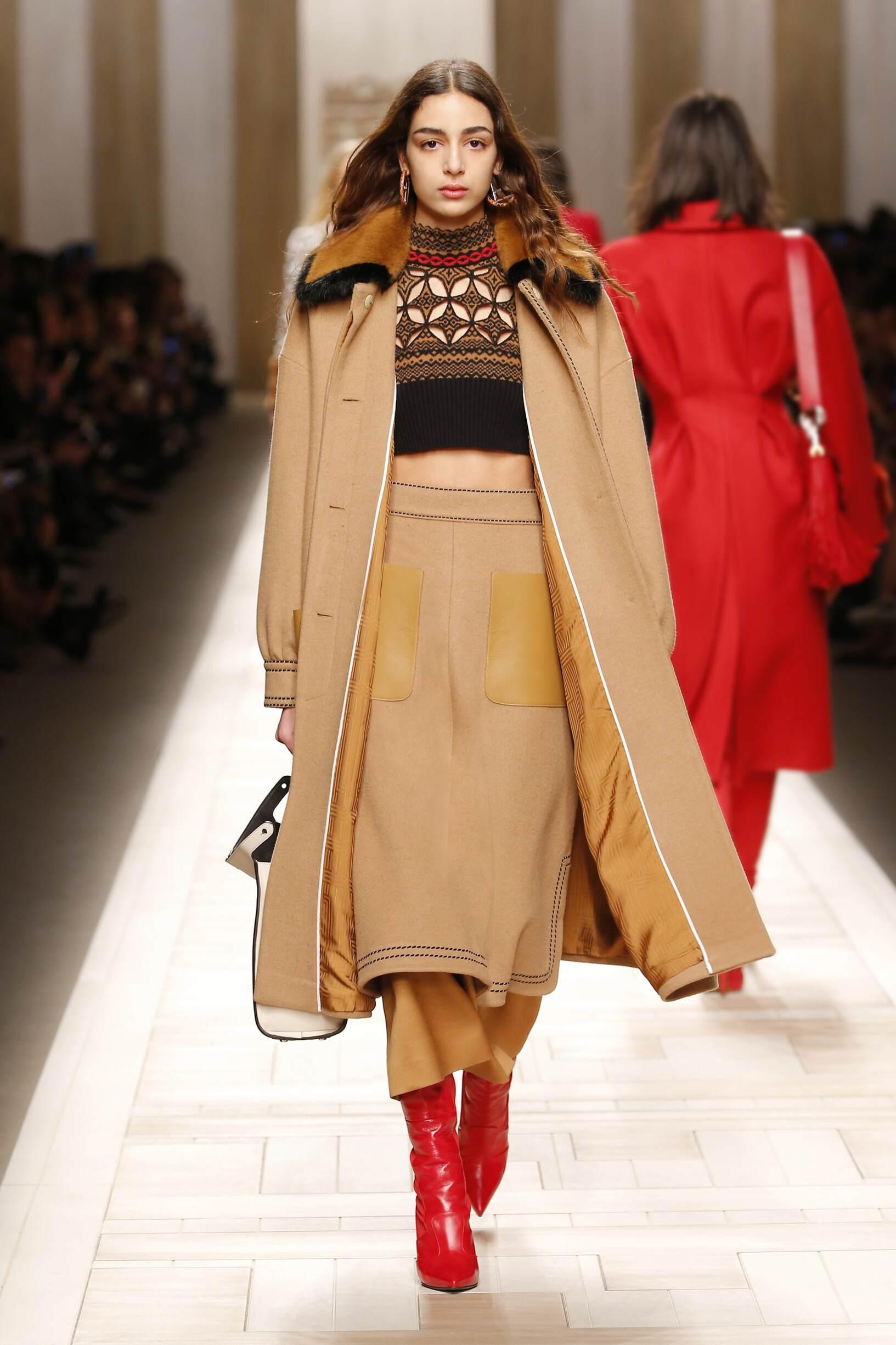 Fendi Woman Milan Fashion Week