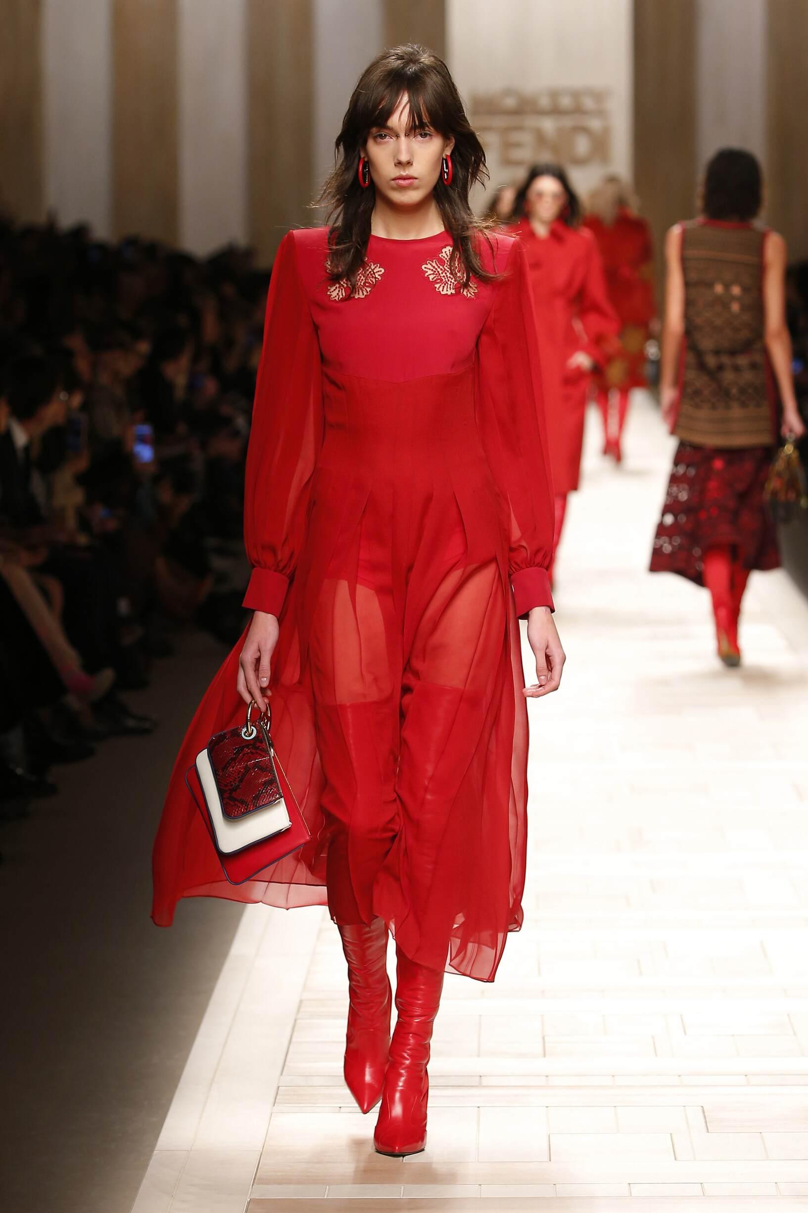 Fendi Women's Collection 2017