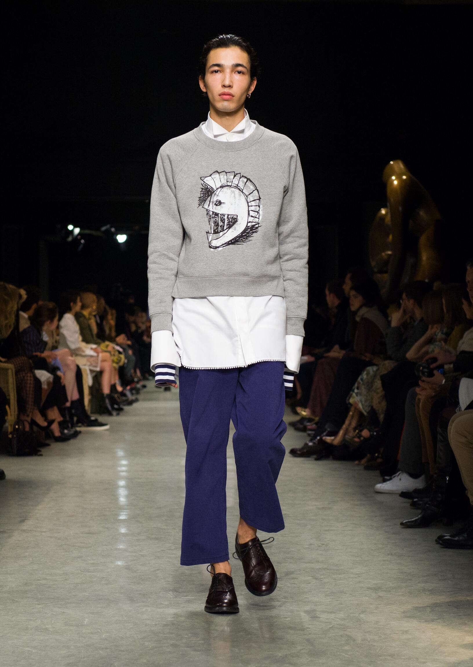 Menswear FW Burberry 2017