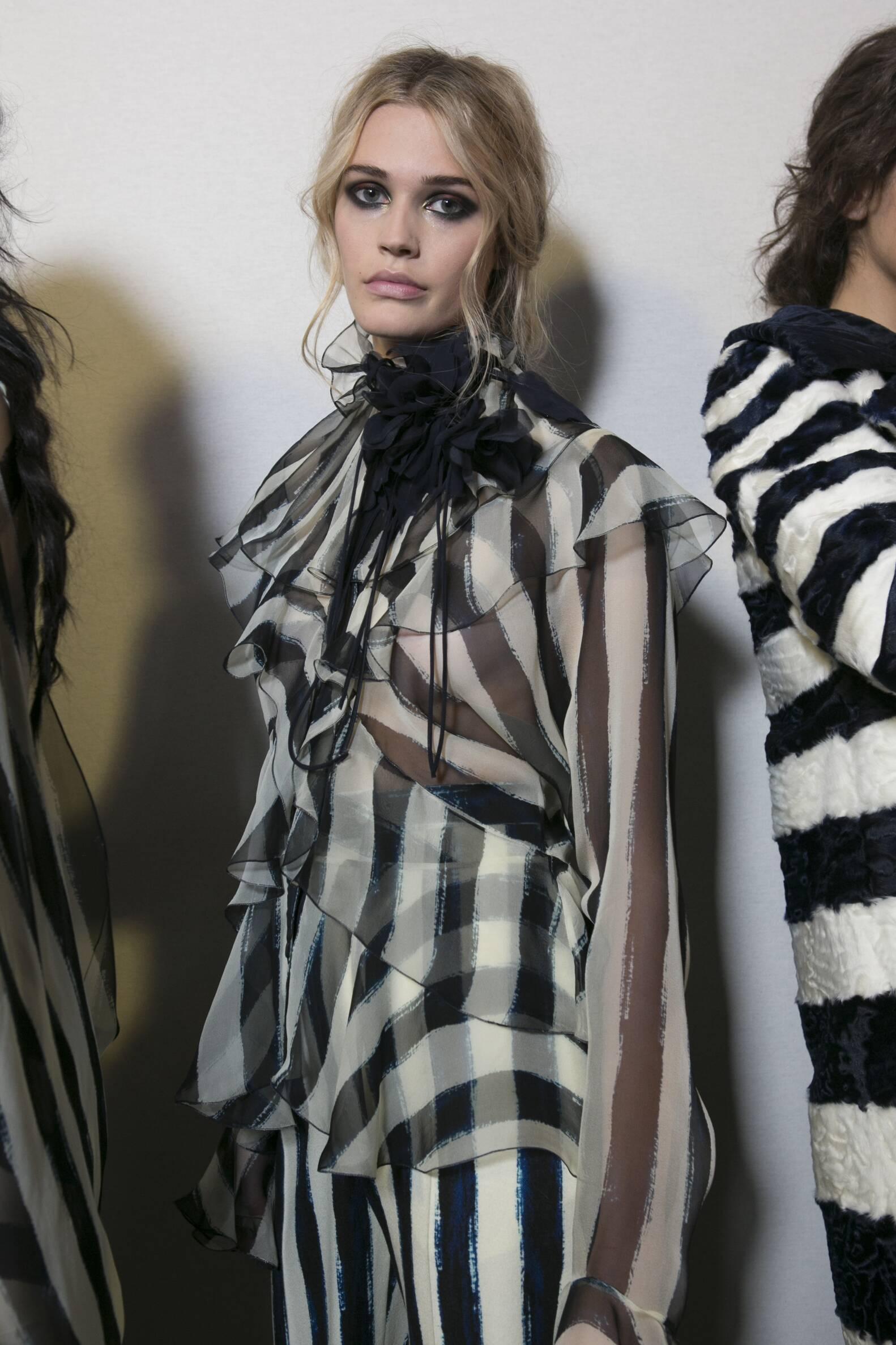 Model 2017-2018 Backstage Alberta Ferretti