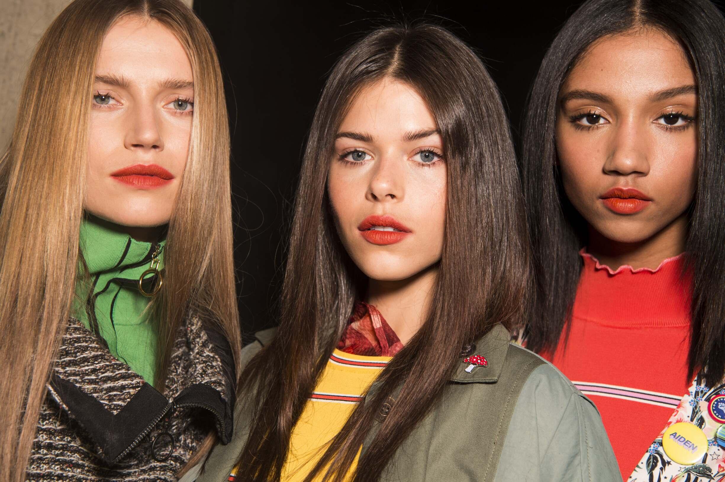 Models Topshop Unique London Fashion week