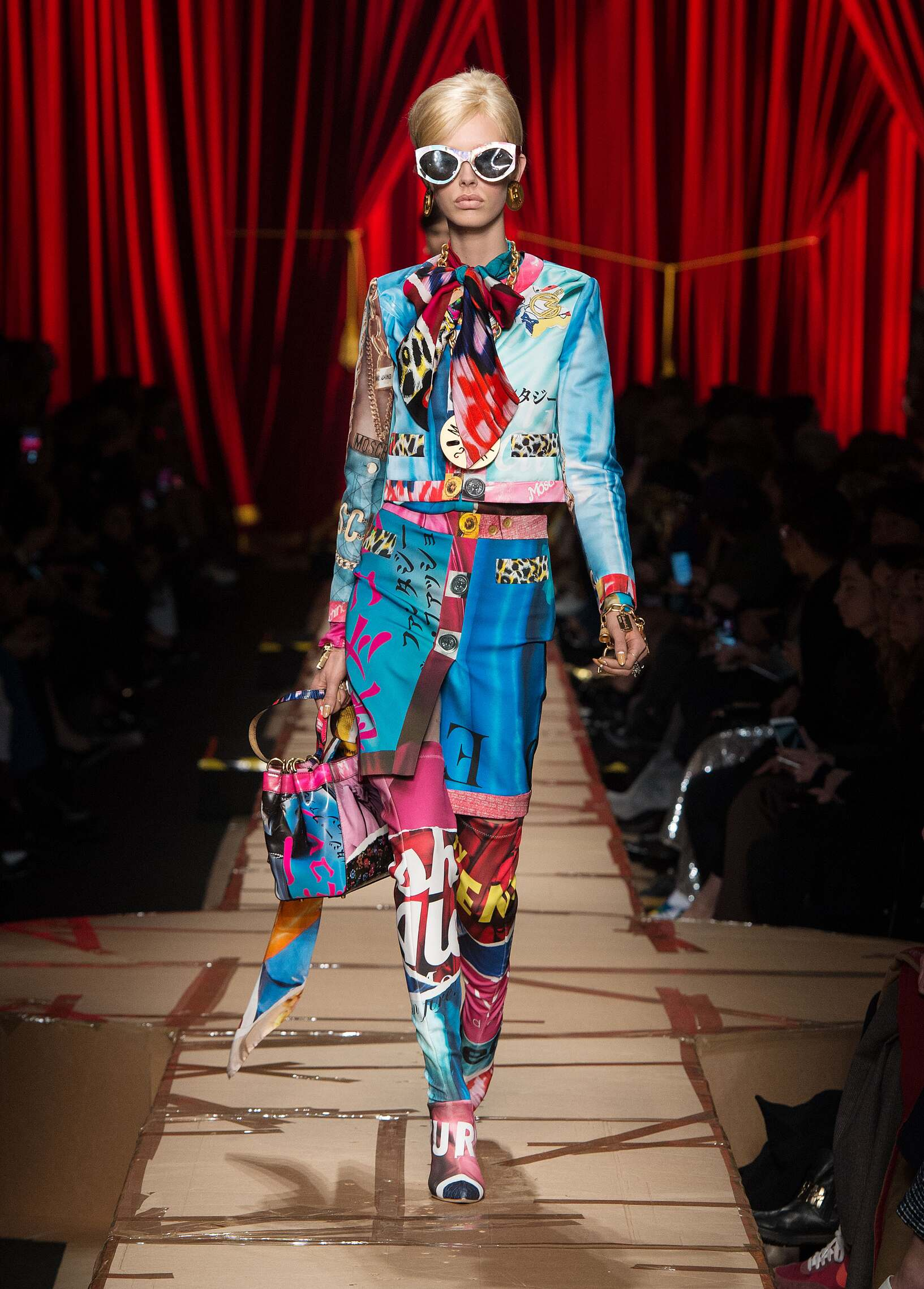 Moschino Fall 2018 Catwalk