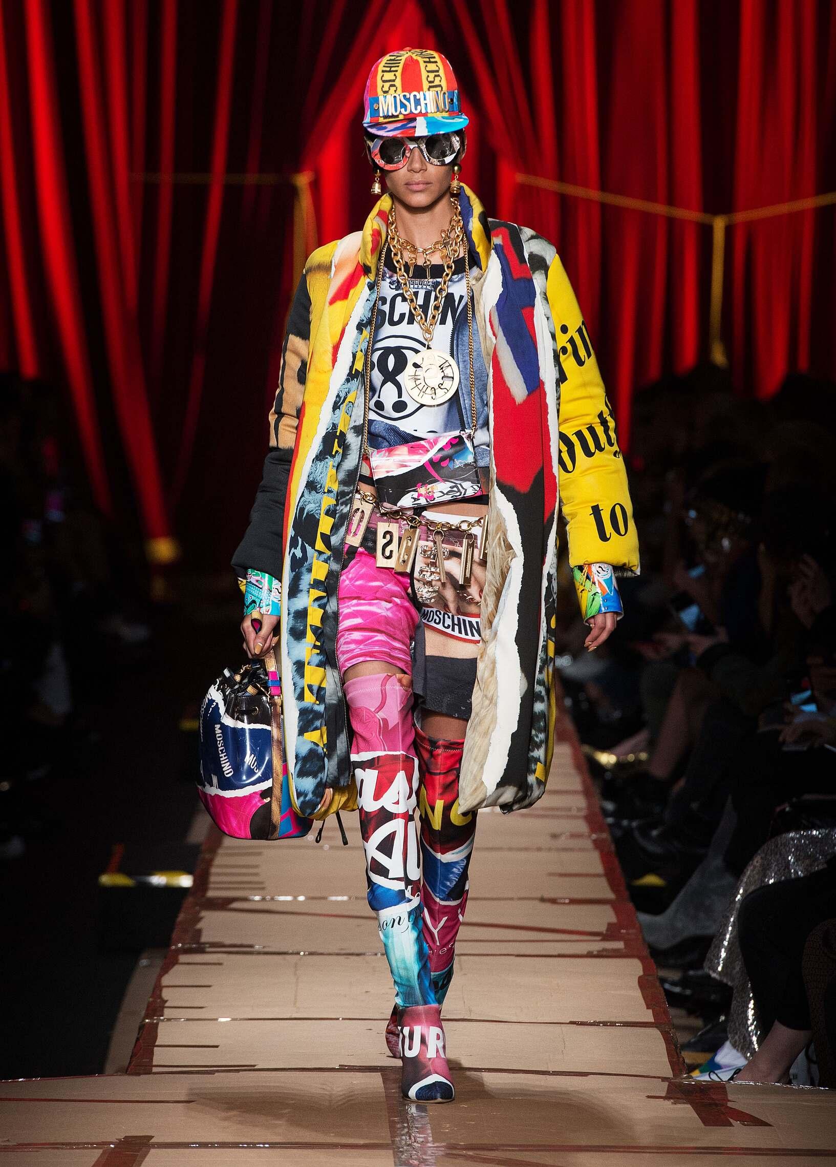 Moschino Woman Style 2018