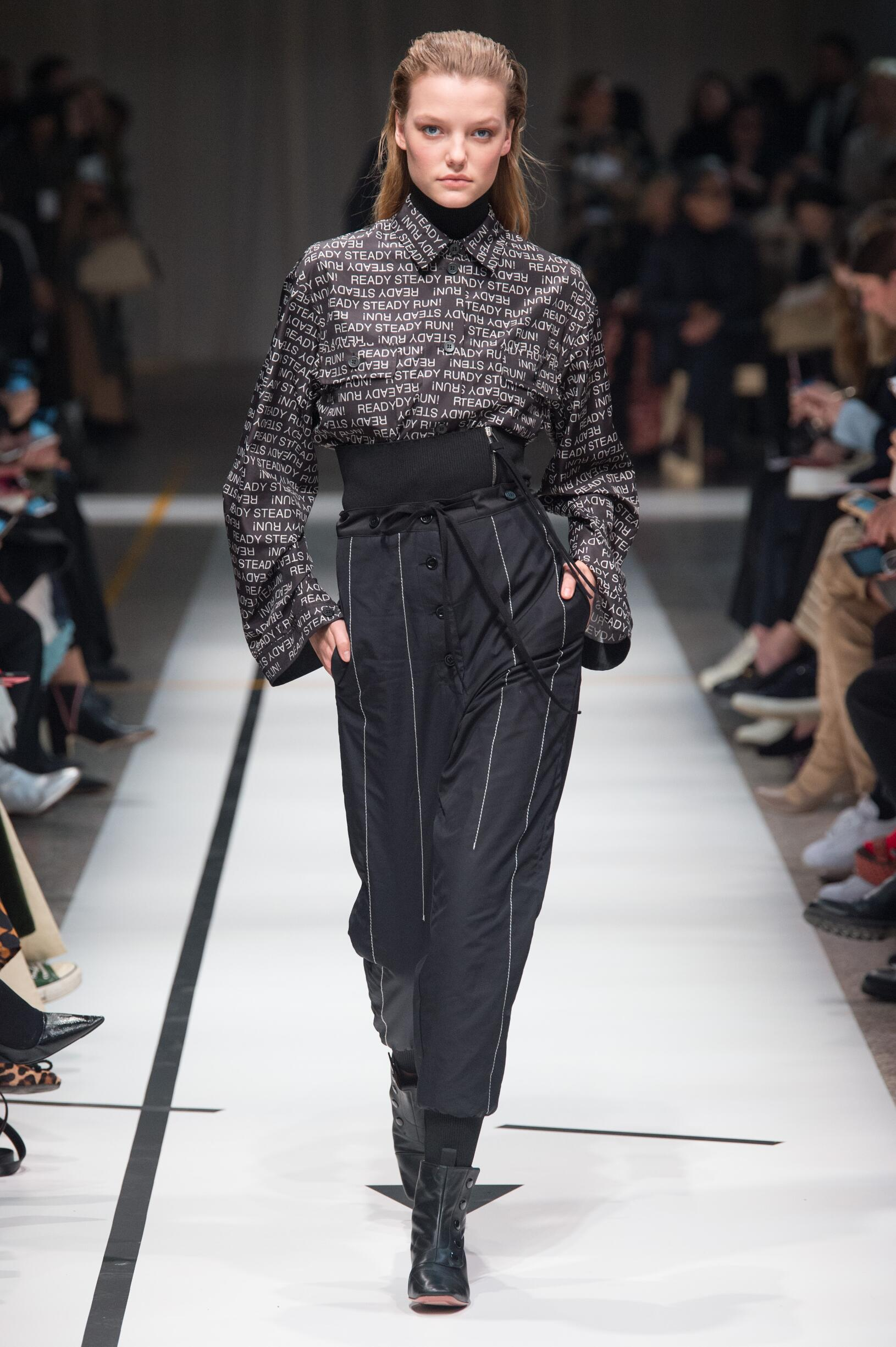 Runway Sportmax Fall Winter 2017 Women's Collection Milan Fashion Week