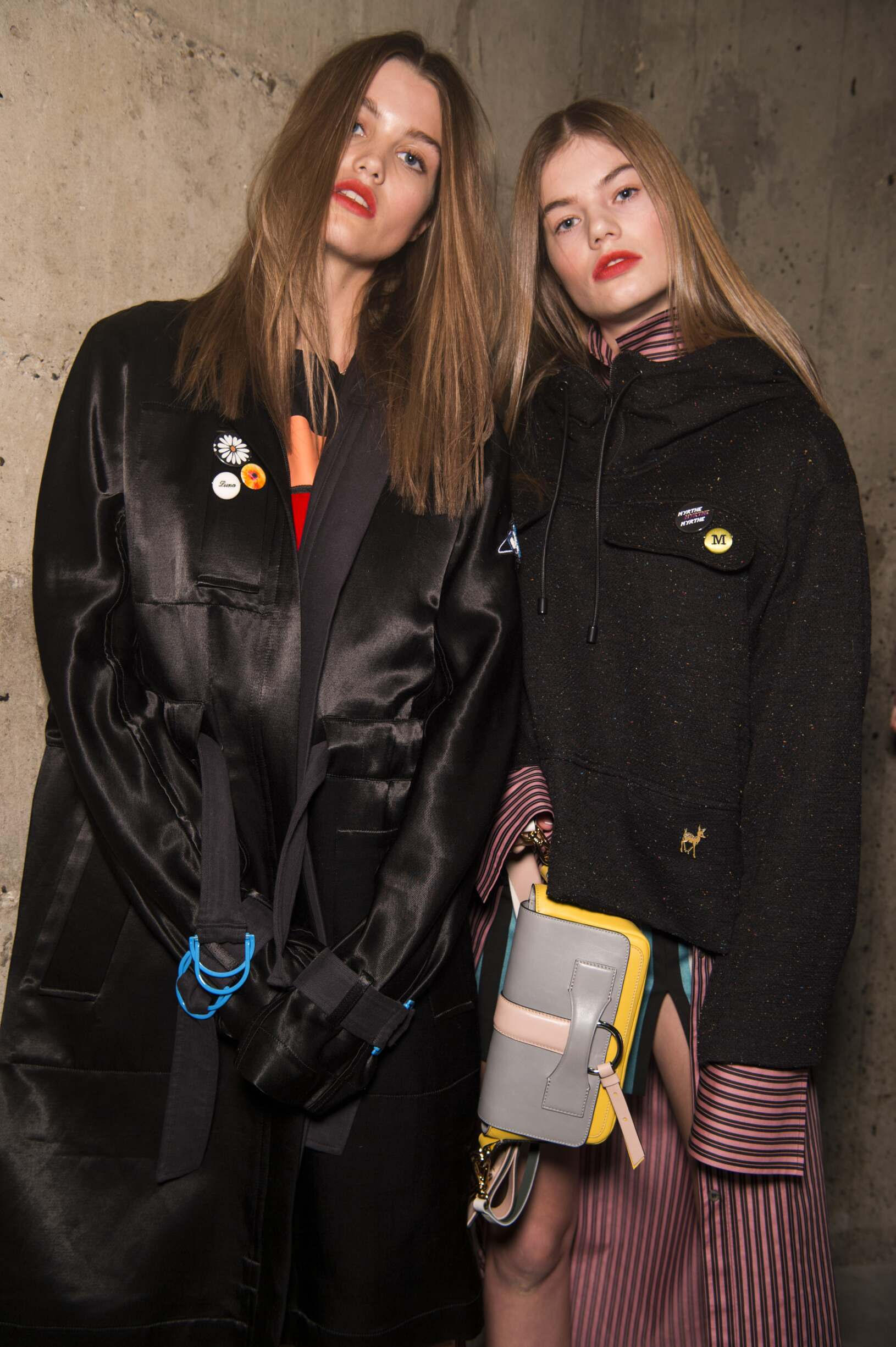 Topshop Unique Backstage FW 2017-18 London