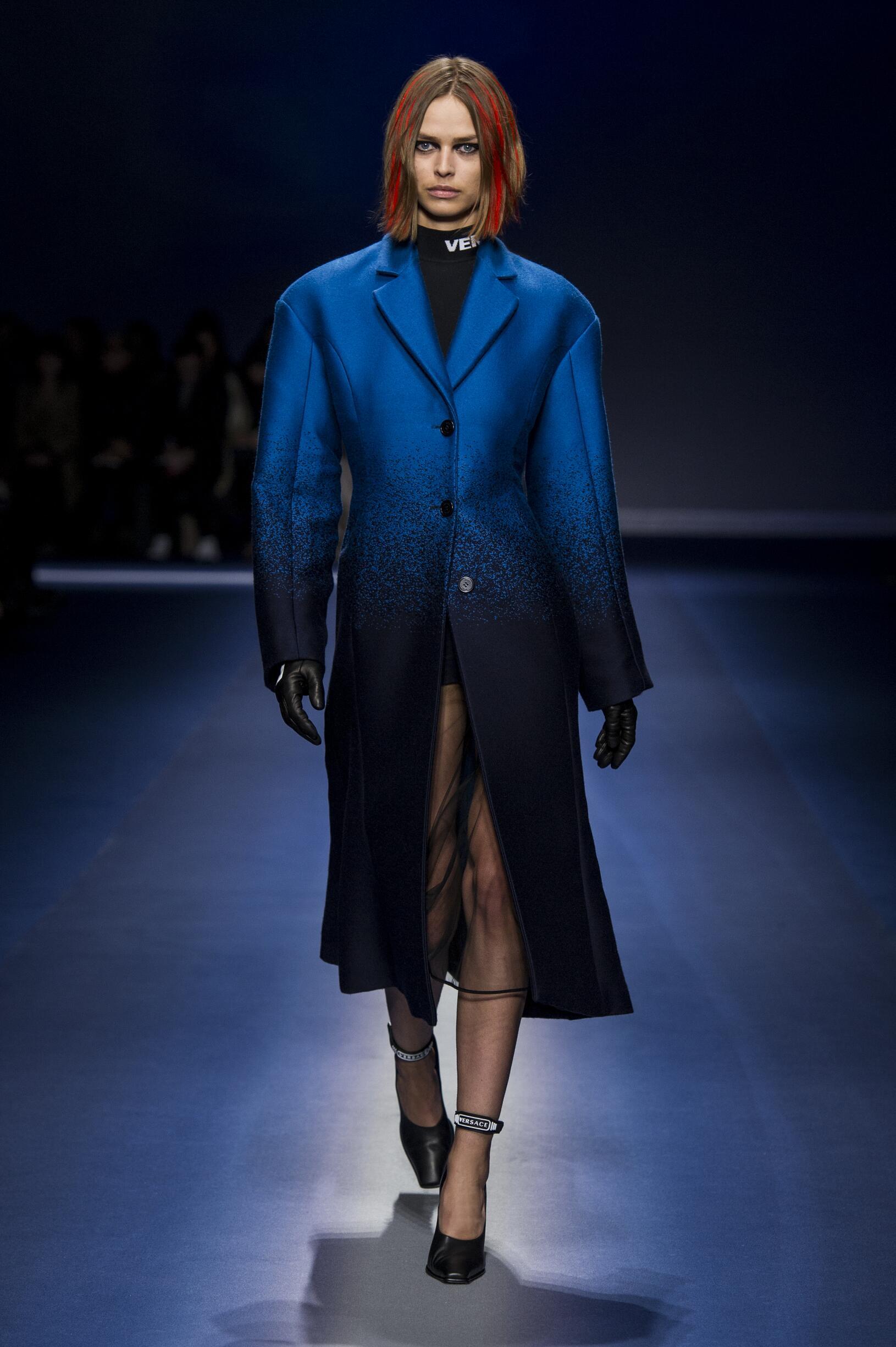 Versace Woman Catwalk