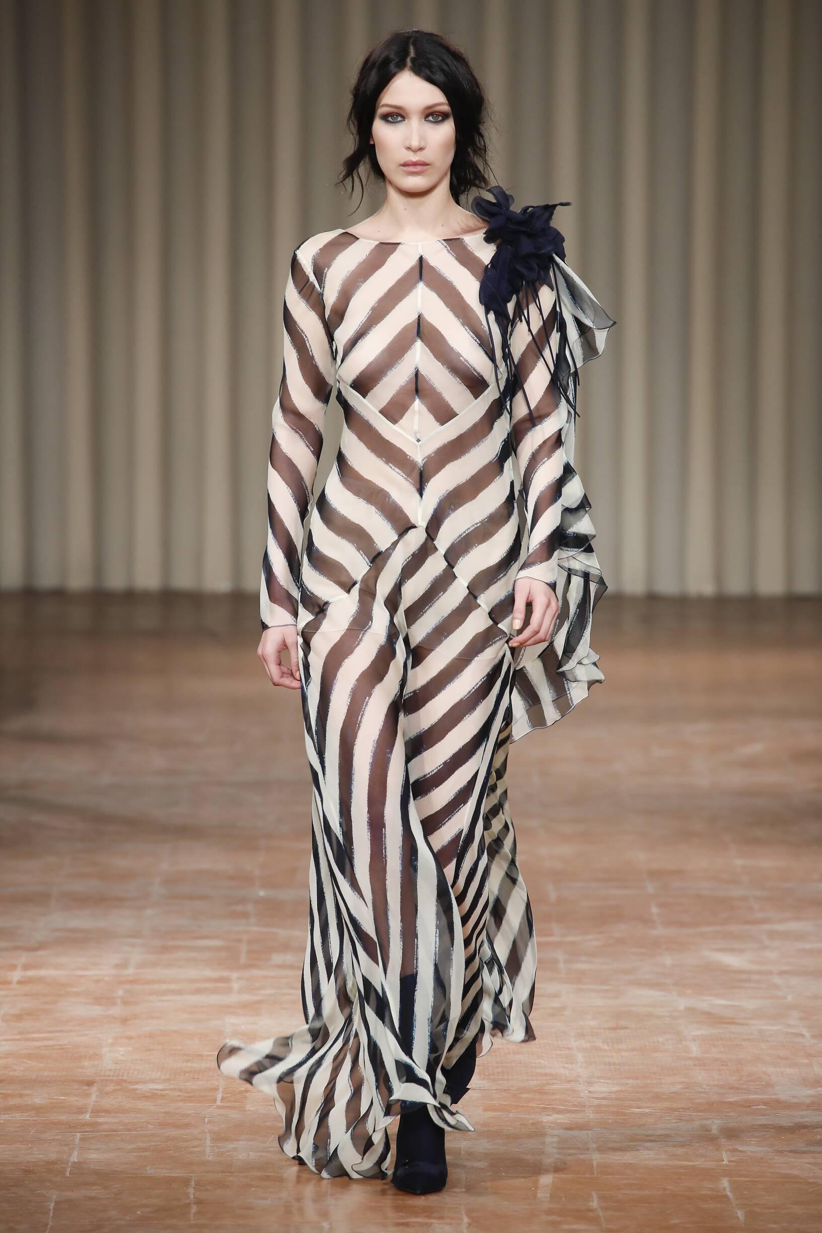 Winter 2017 Fashion Trends Alberta Ferretti