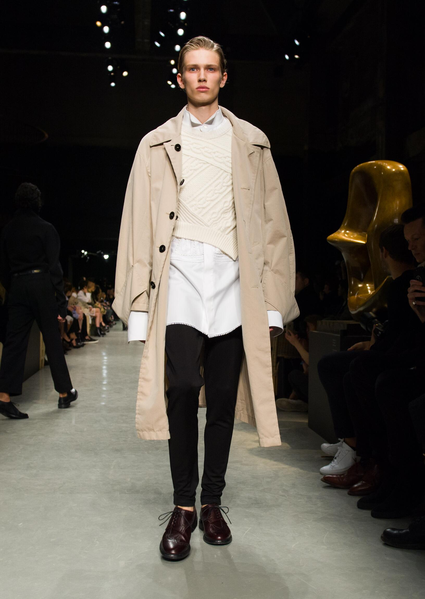 Winter 2017 Man Trends Burberry