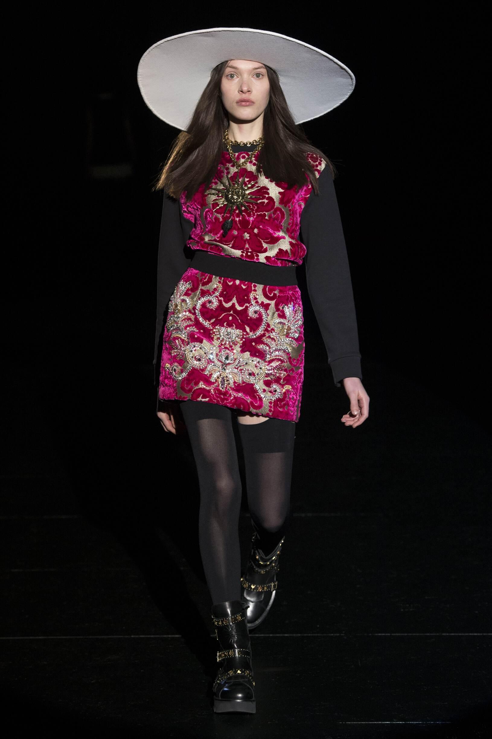 Woman Model Fashion Show Fausto Puglisi