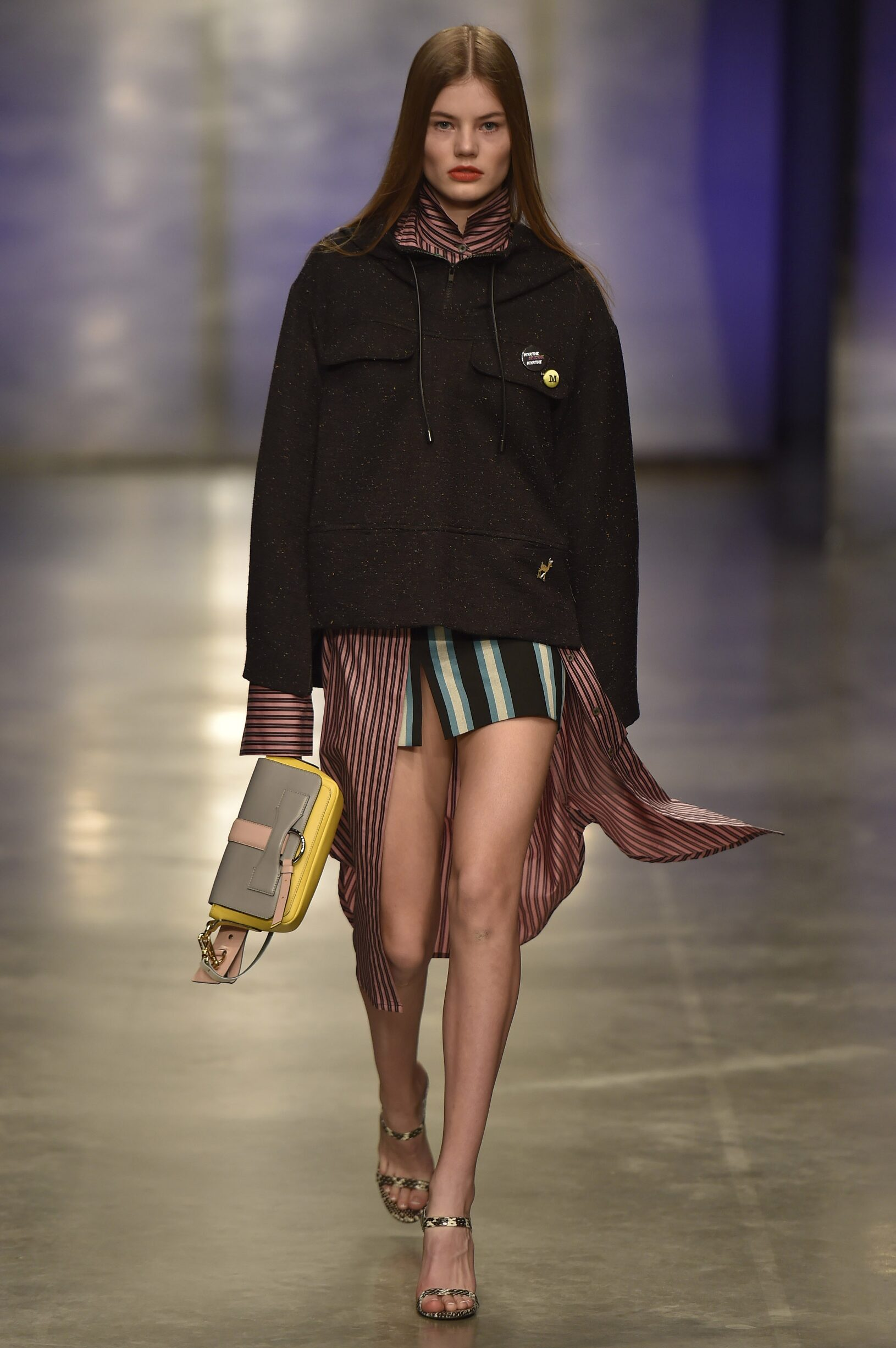 Woman Model Fashion Show Topshop Unique