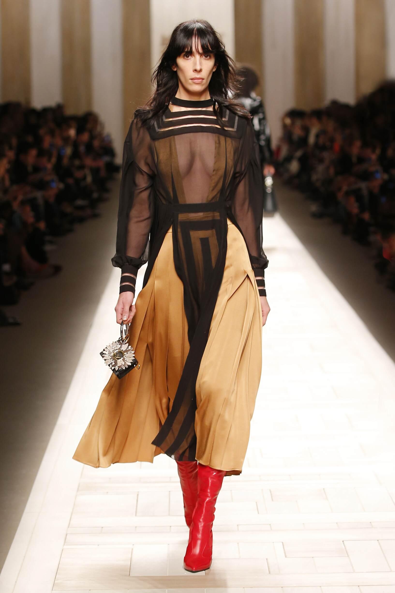Women FW 2017 Fendi Fashion Show Milan