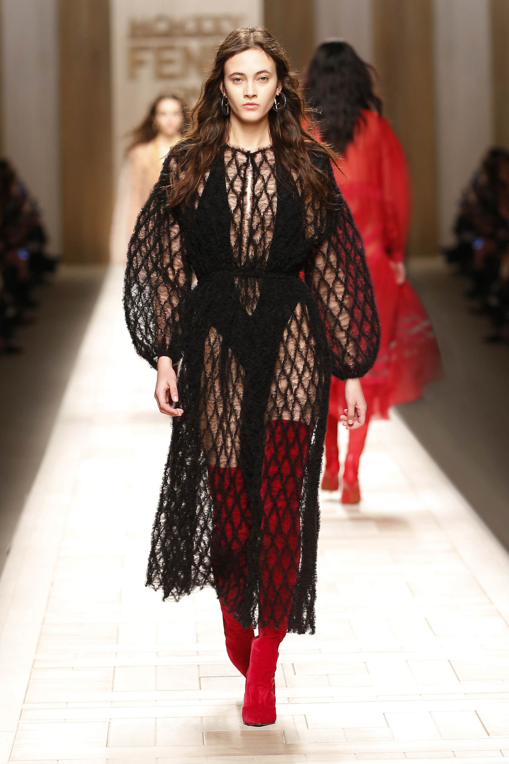 Womenswear FW Fendi 2017