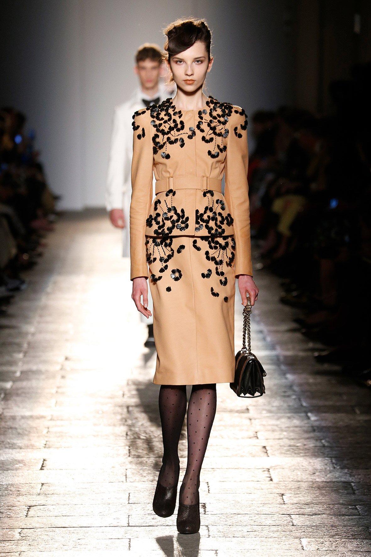 Womenswear Fall Bottega Veneta 2017