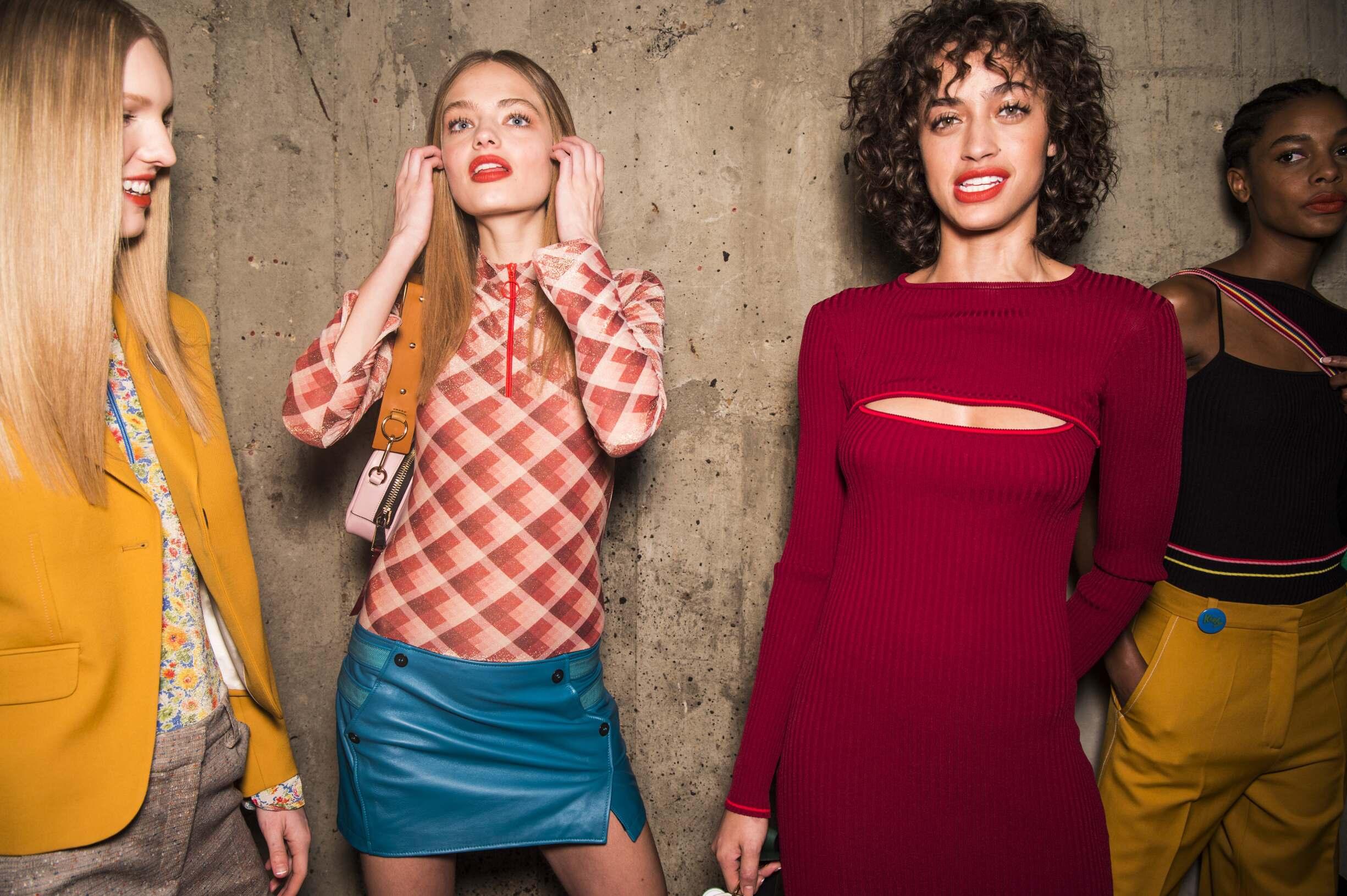 Womenswear Topshop Unique Models 2017