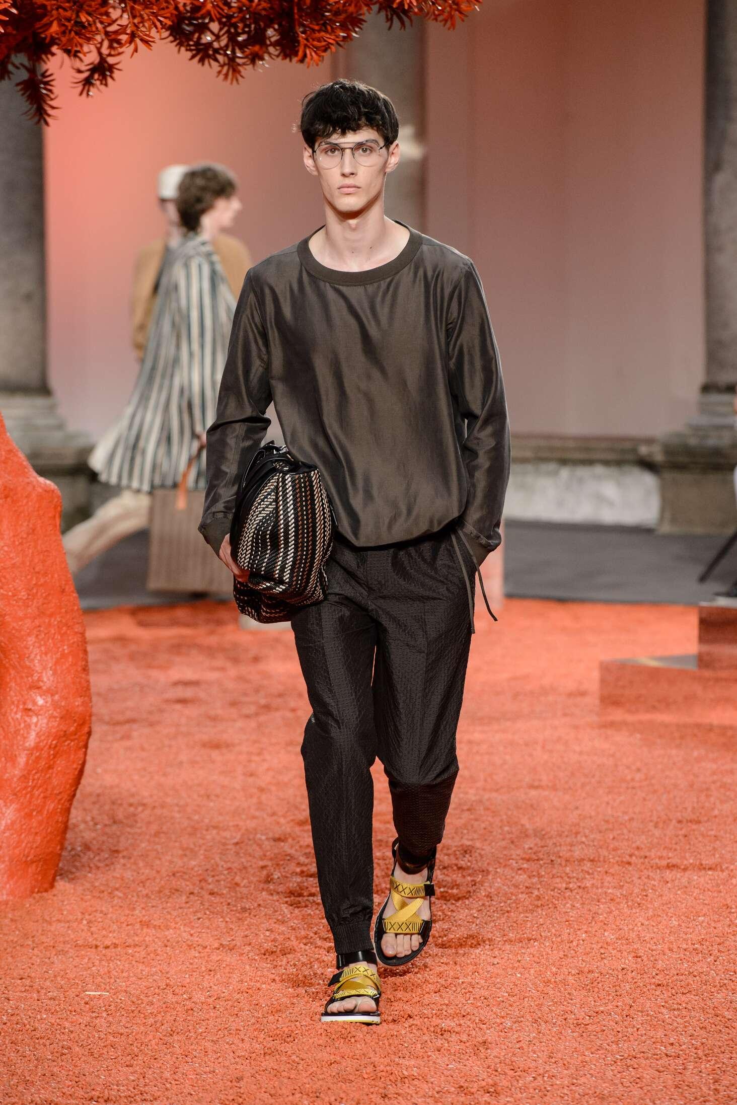 2018 Catwalk Ermenegildo Zegna Couture
