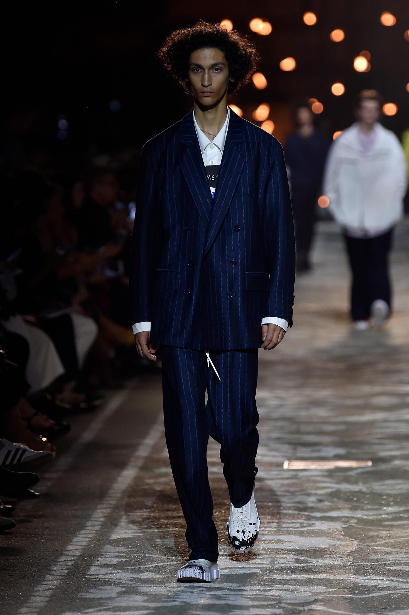 2018 Catwalk Hugo Man Fashion Show Summer