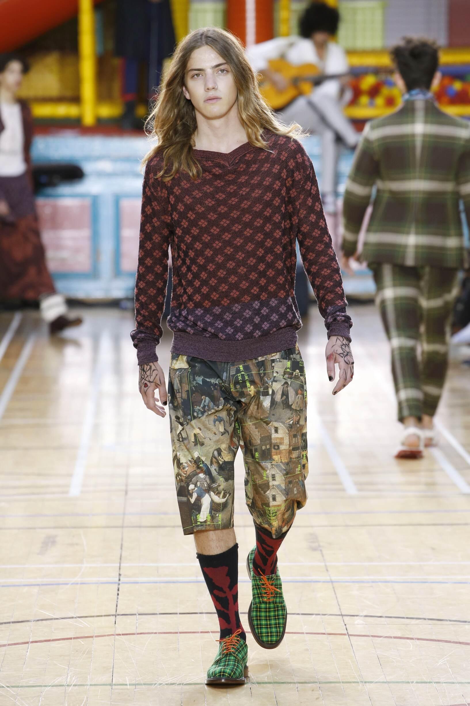 2018 Catwalk Vivienne Westwood Man Fashion Show Summer