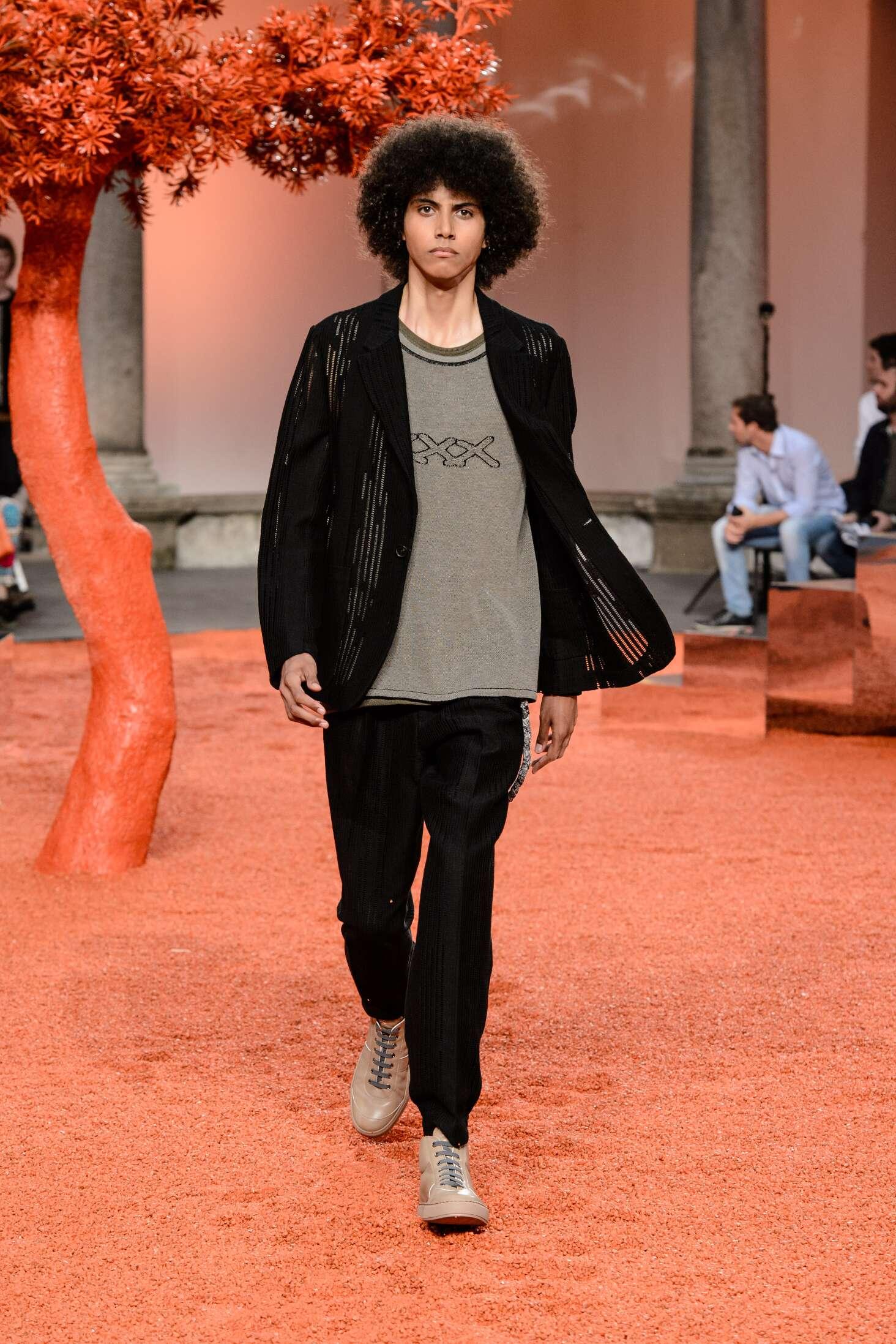 2018 Ermenegildo Zegna Couture Catwalk