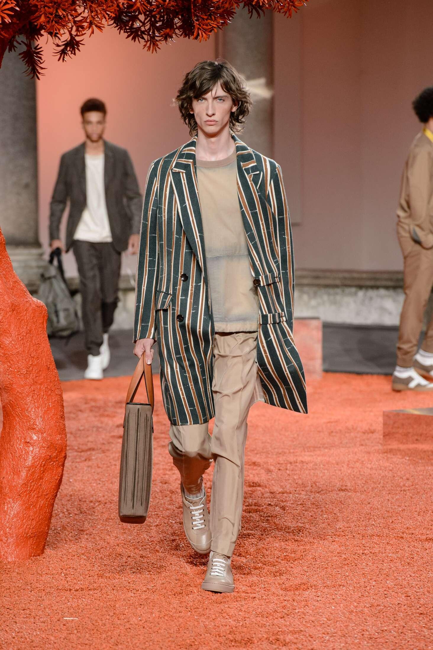 2018 Ermenegildo Zegna Couture Spring Catwalk