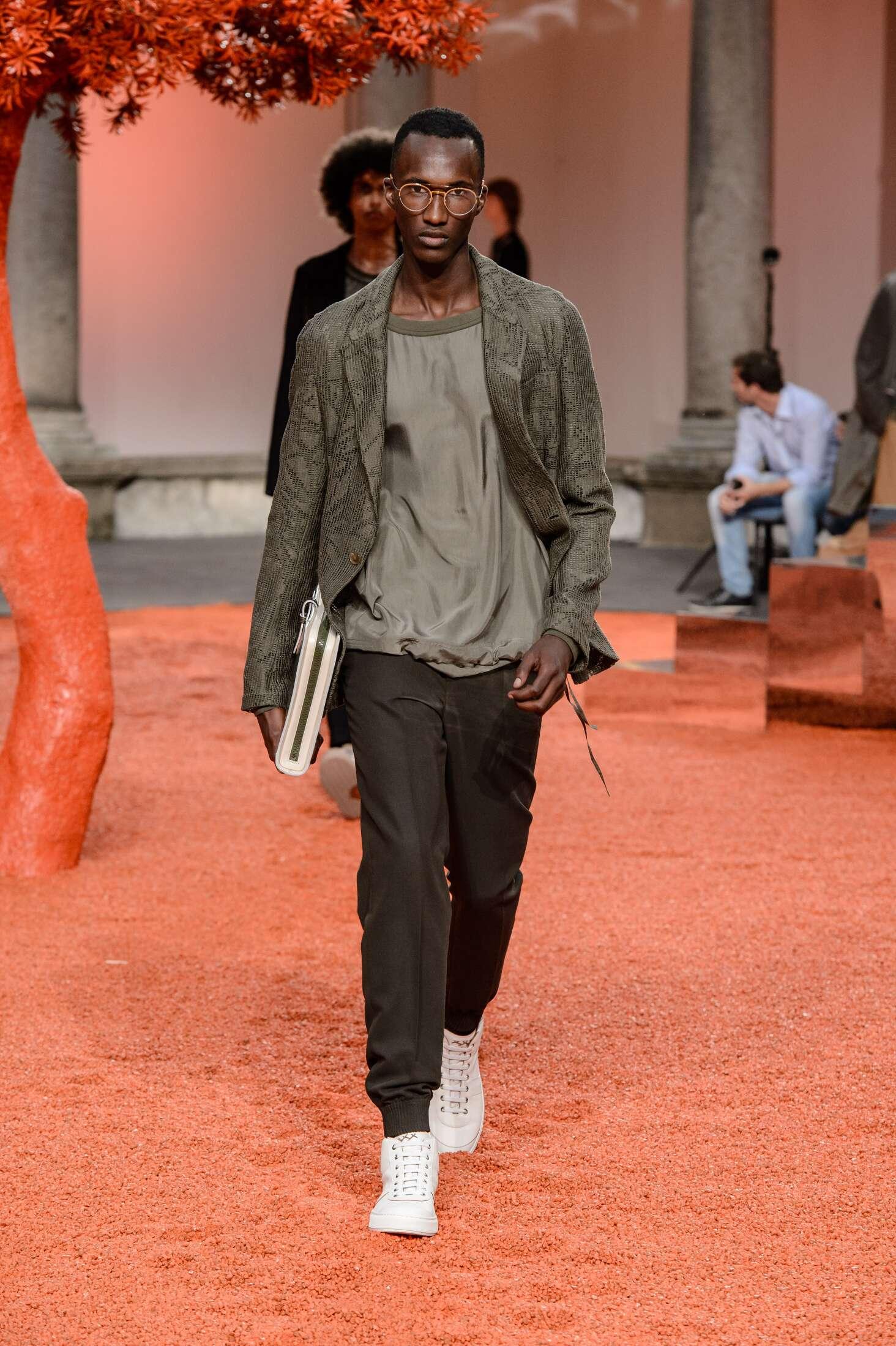 2018 Ermenegildo Zegna Couture Summer Catwalk