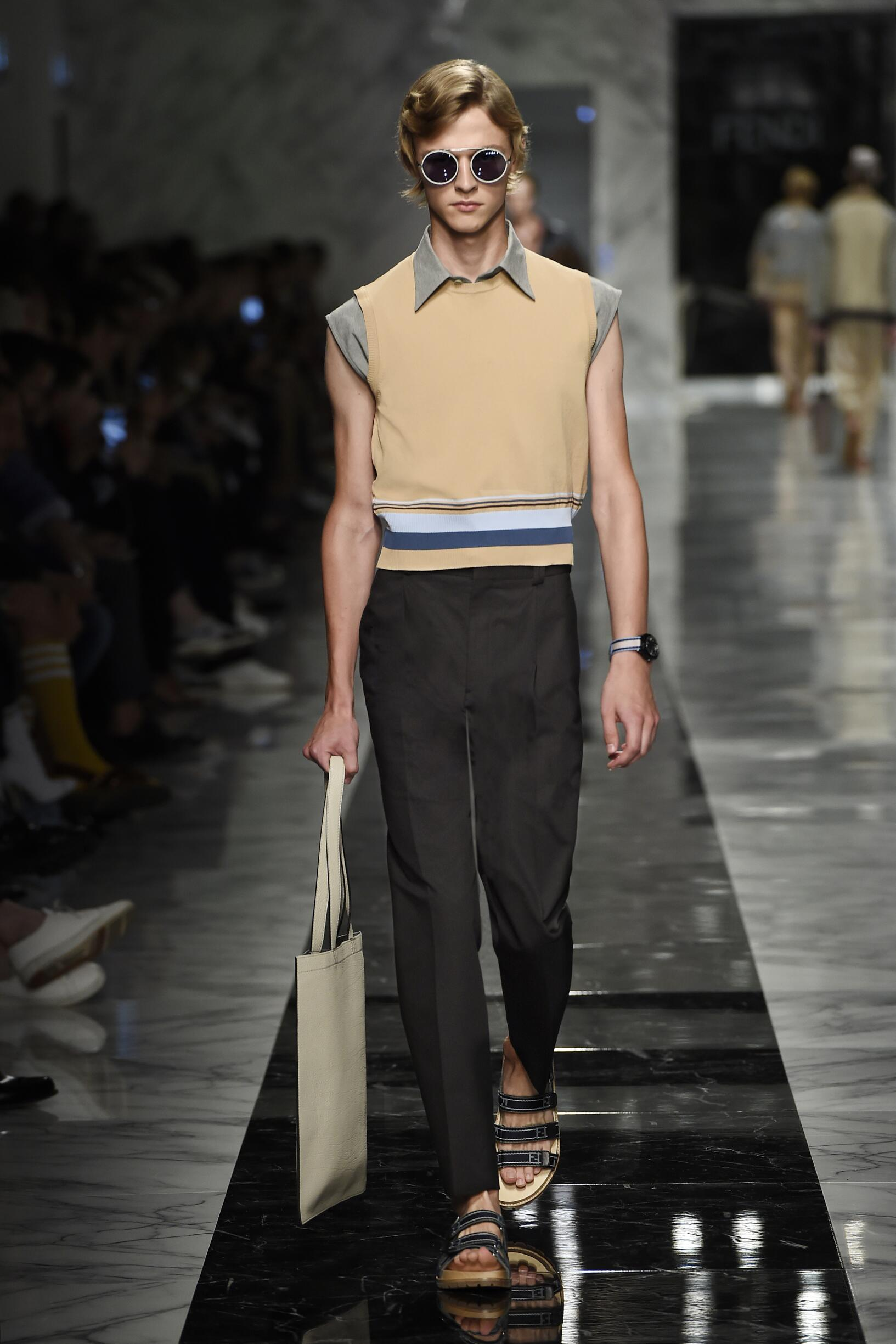 fendi spring summer 2018 men u2019s collection