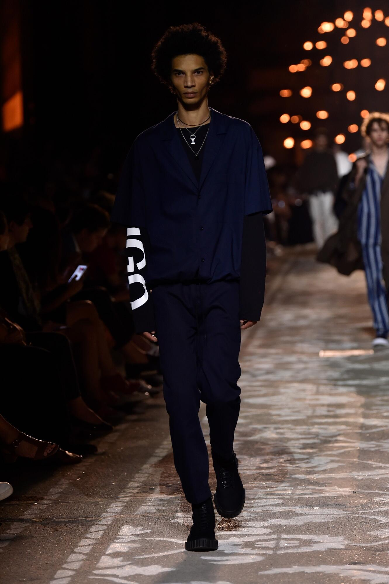 2018 Hugo Man Catwalk