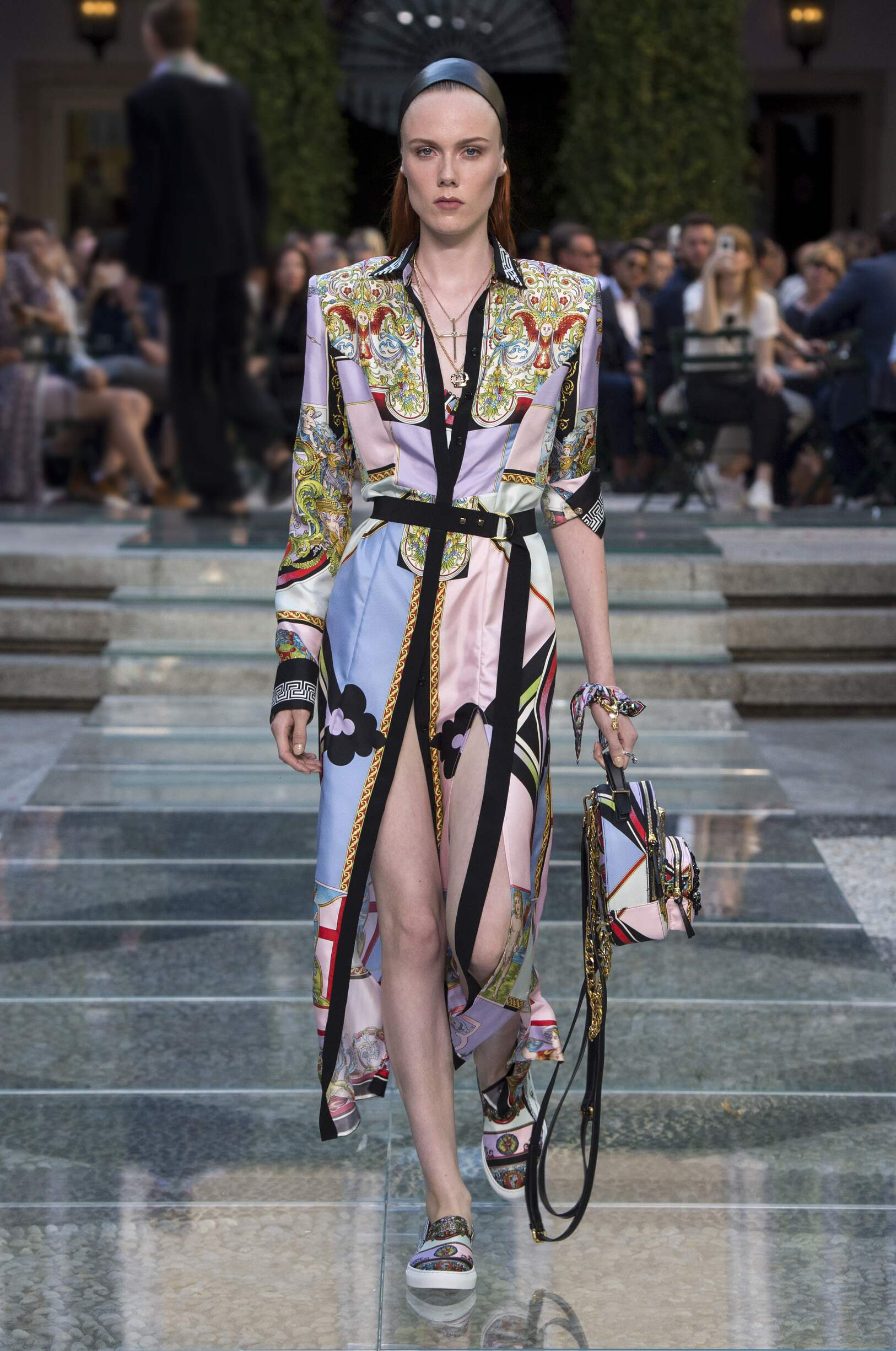 2018 Versace Spring Catwalk Womenswear