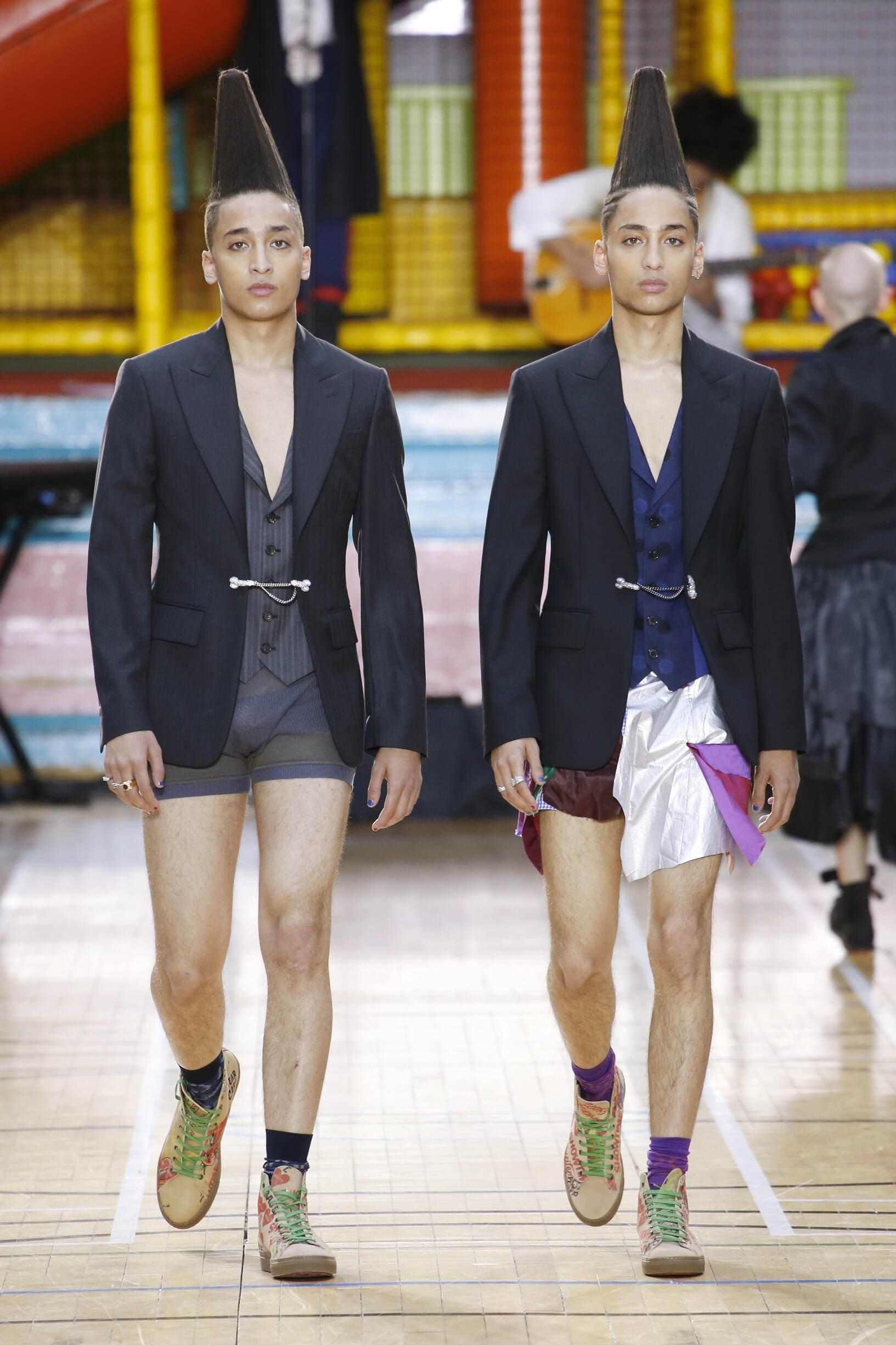 2018 Vivienne Westwood Catwalk London Fashion Week