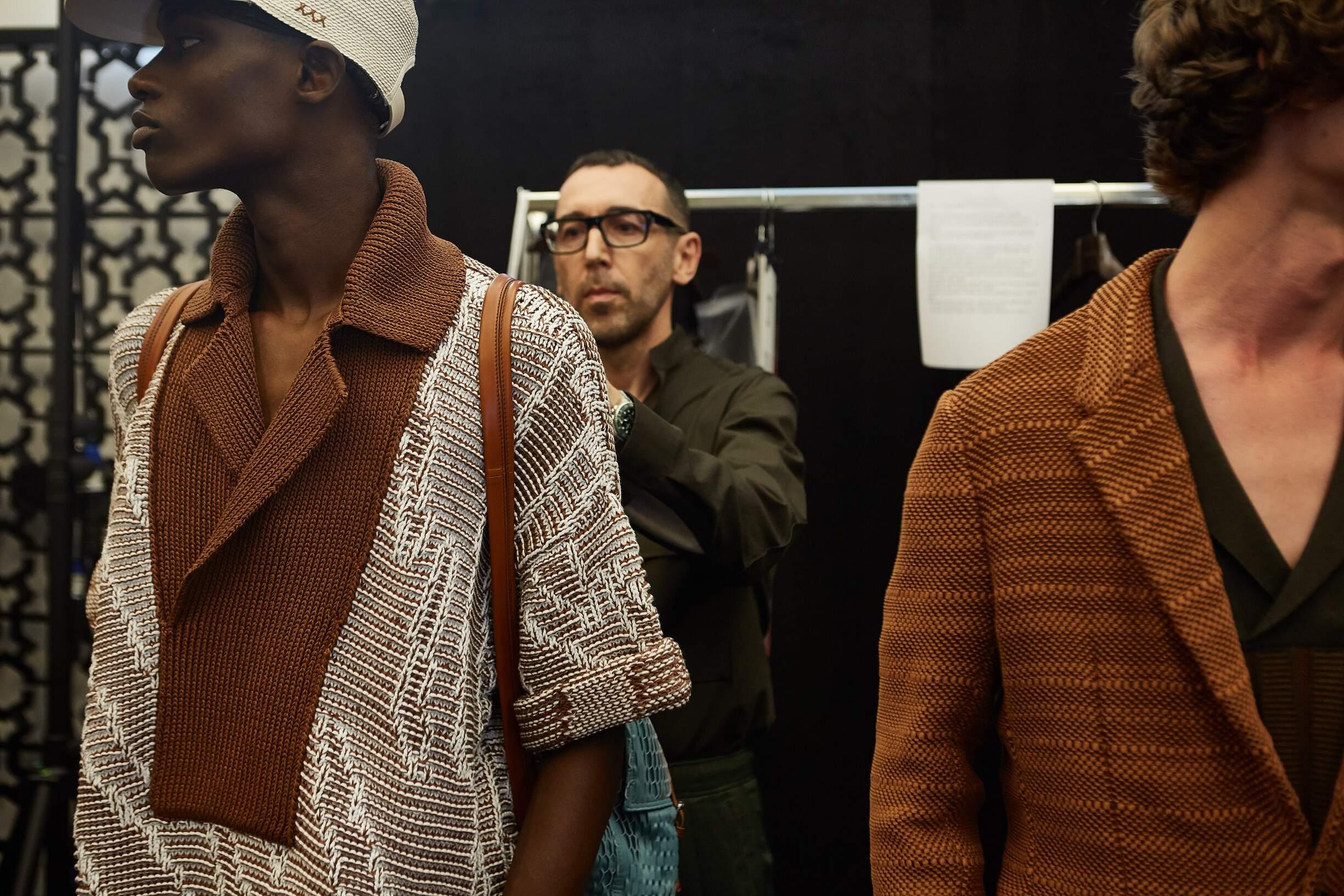 Backstage Ermenegildo Zegna Couture Alessandro Sartori 2018
