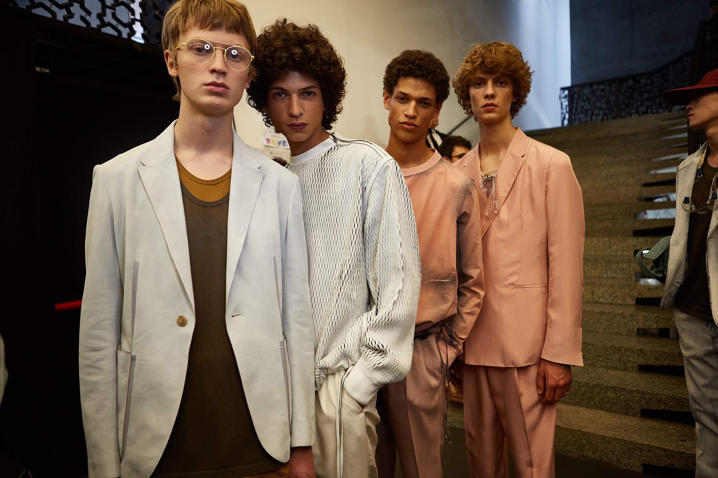 Backstage Ermenegildo Zegna Couture Models Trends 2018