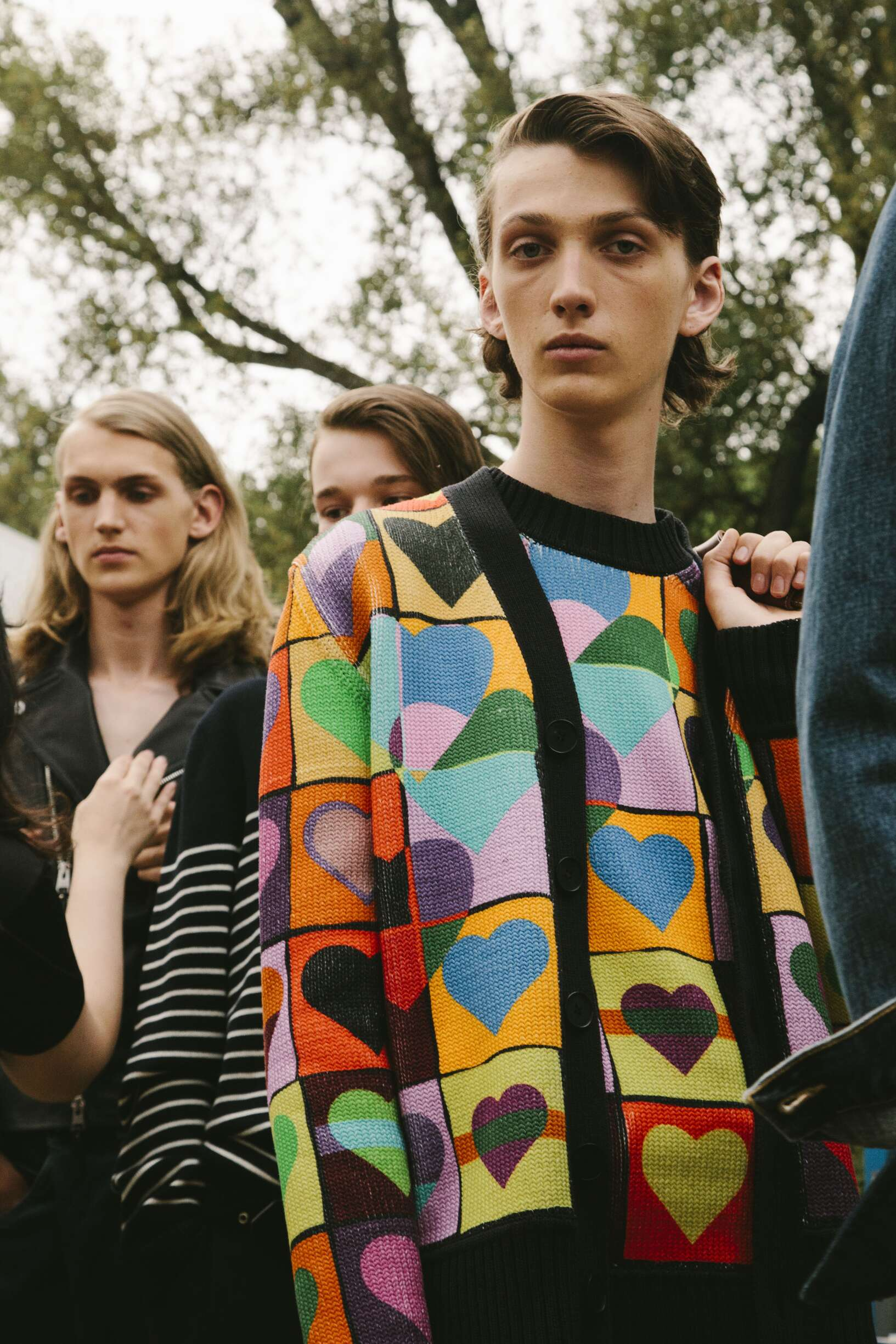Backstage J.W. Anderson Pitti Uomo 2018 Spring Summer 2018 Collection