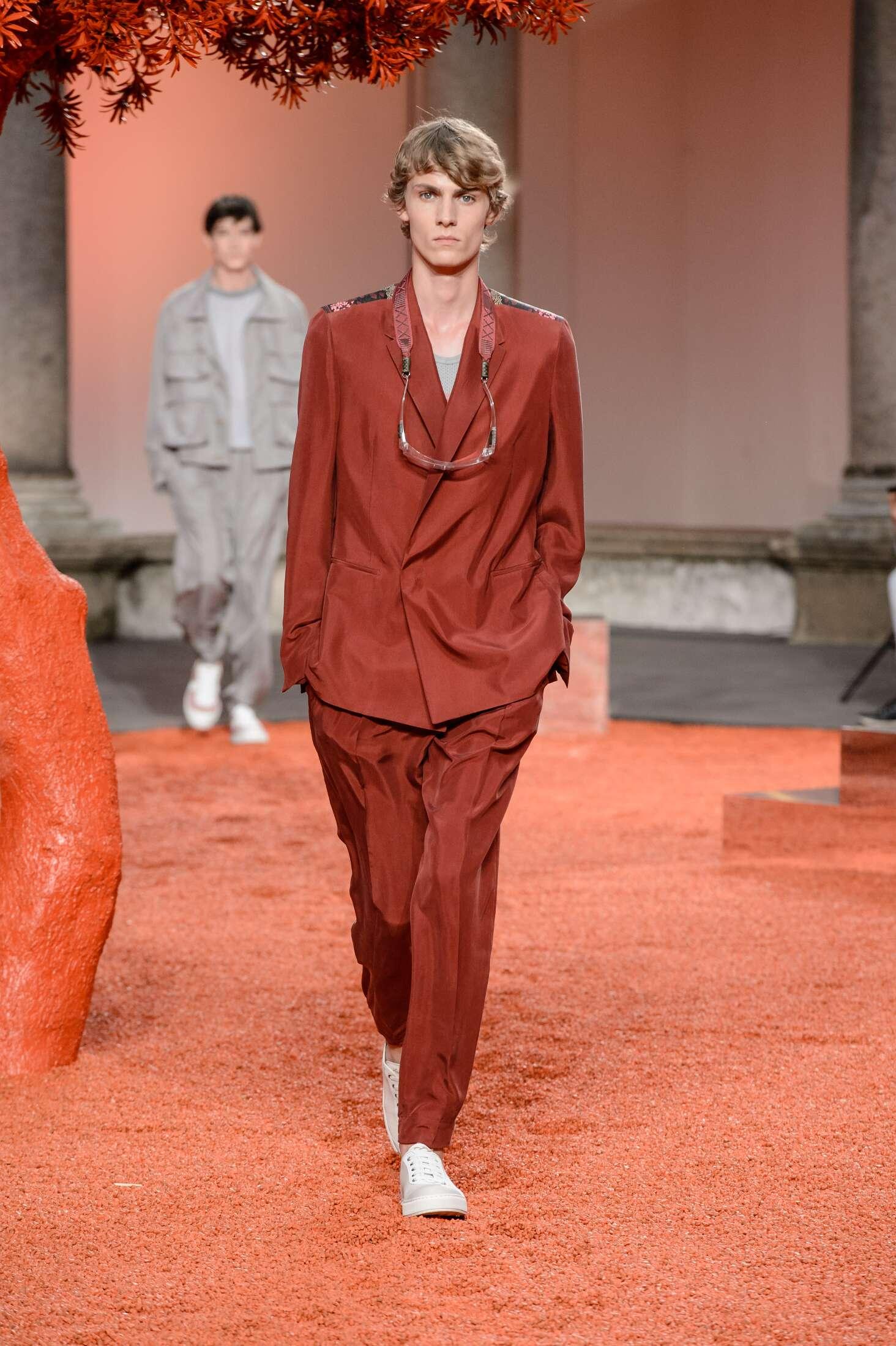 Catwalk Ermenegildo Zegna Couture Man Fashion Show Summer 2018