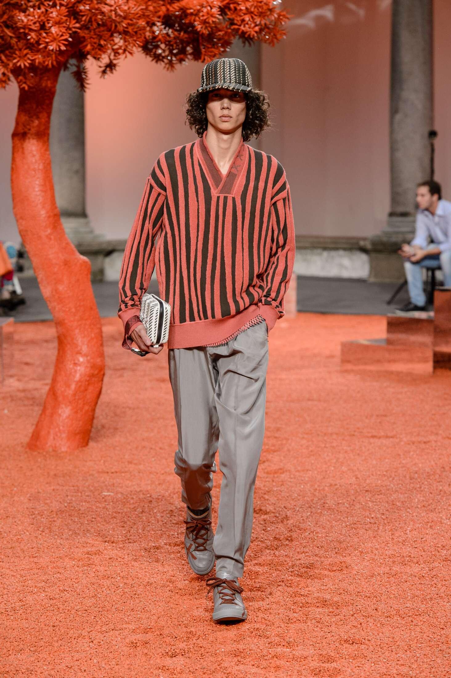 Catwalk Ermenegildo Zegna Couture