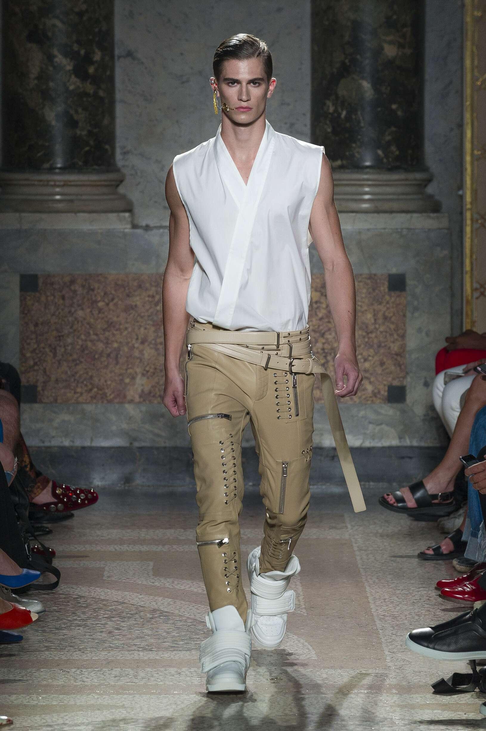 Catwalk Les Hommes Man Fashion Show Summer 2018