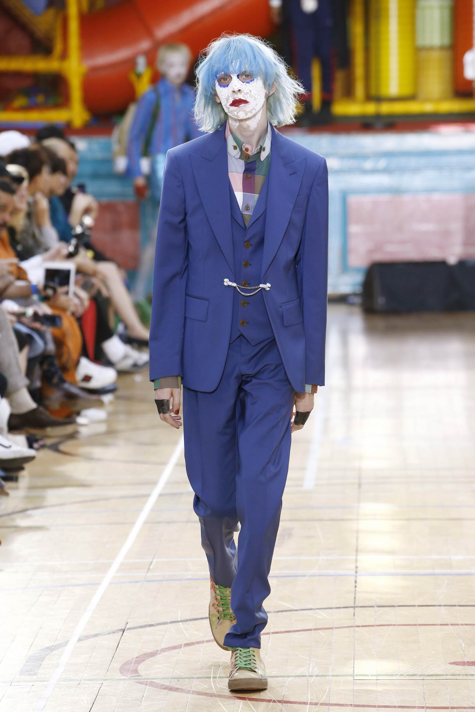Catwalk Vivienne Westwood Man Fashion Show Summer 2018