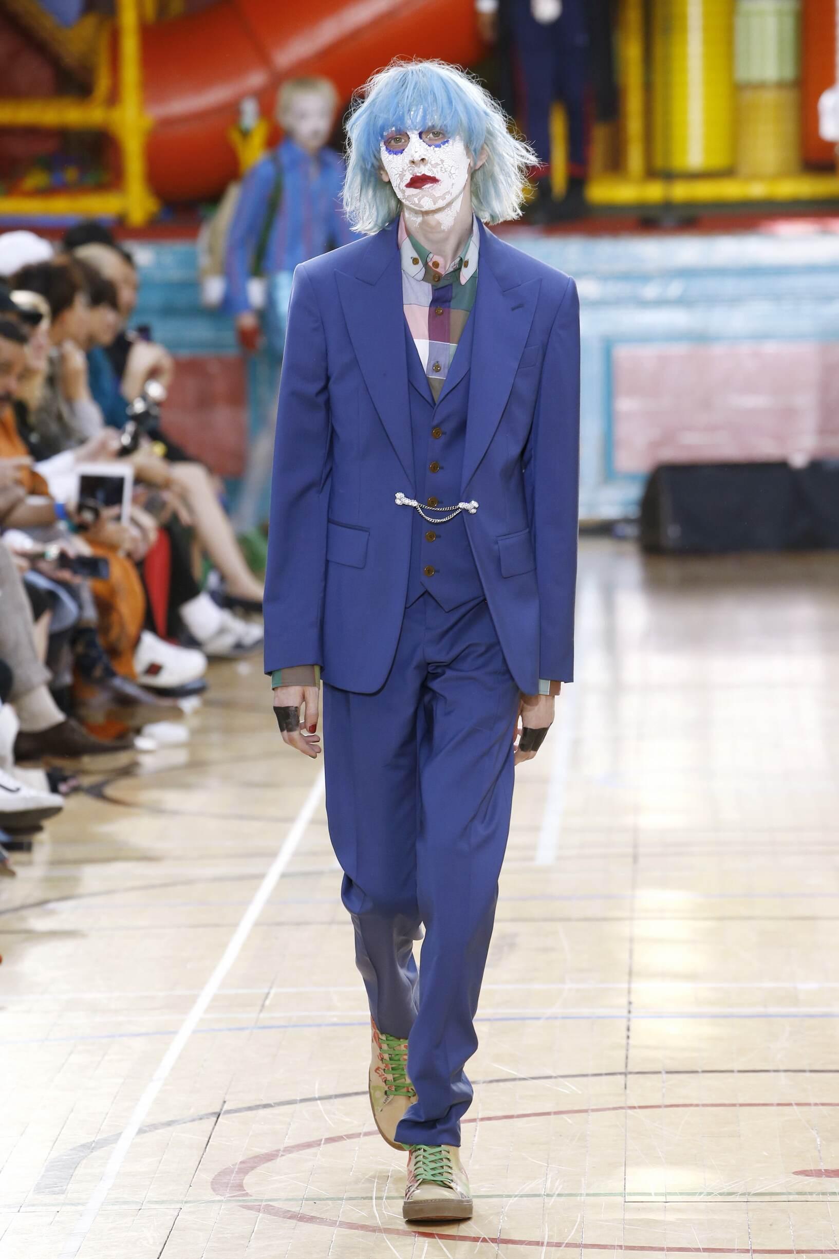 Catwalk Vivienne Westwood Man Fashion Show Summer 2018