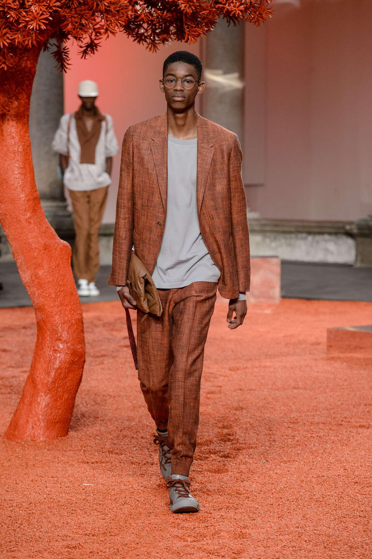 Ermenegildo Zegna Couture Catwalk