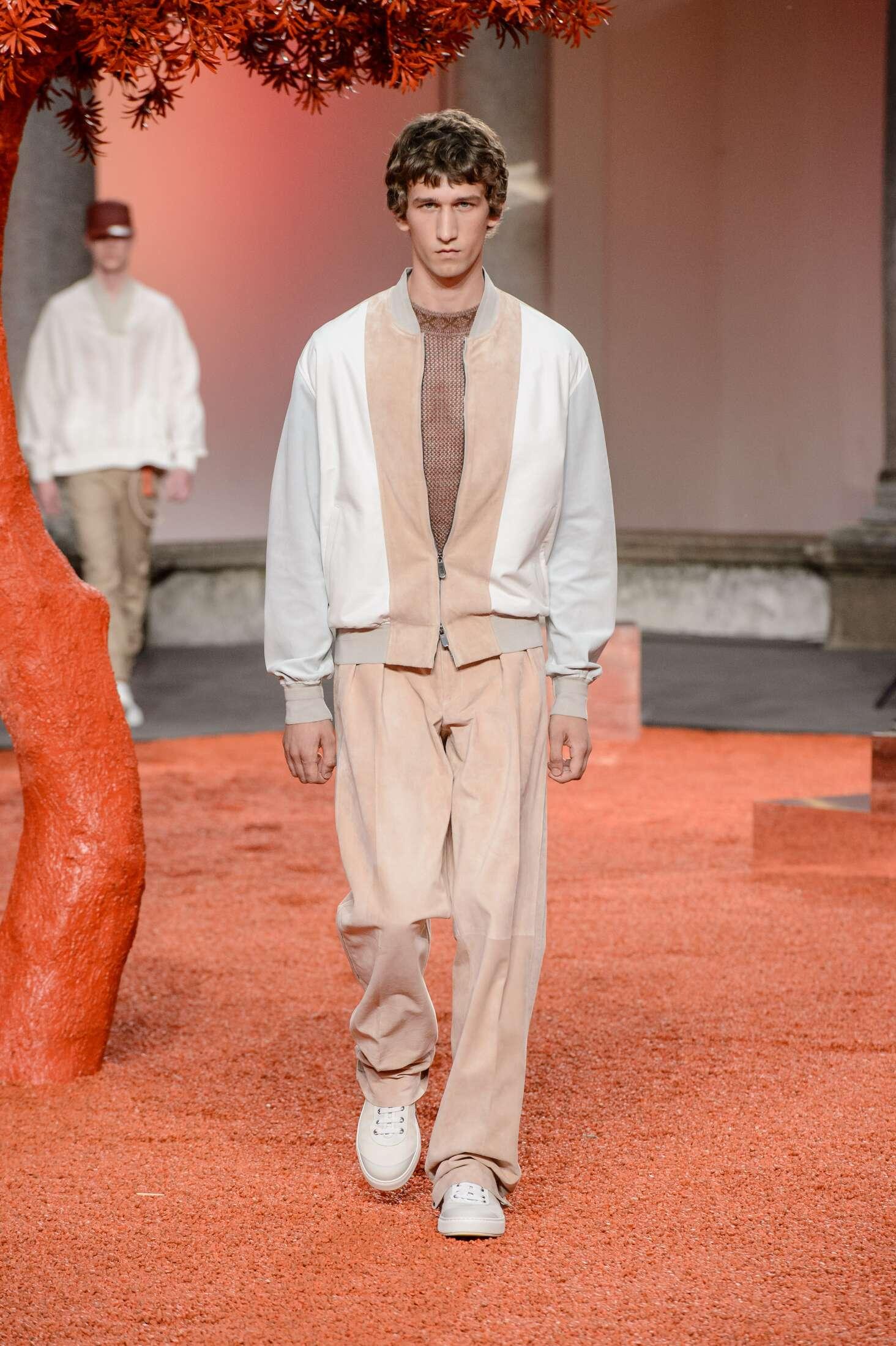 Ermenegildo Zegna Couture Fashion Show SS 2018