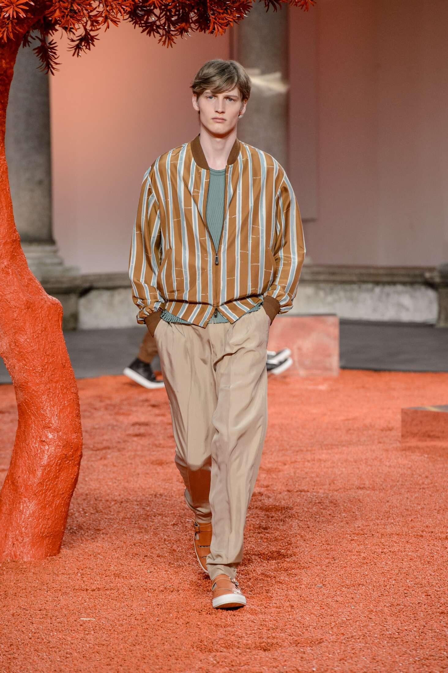 Ermenegildo Zegna Couture Men's Collection 2018
