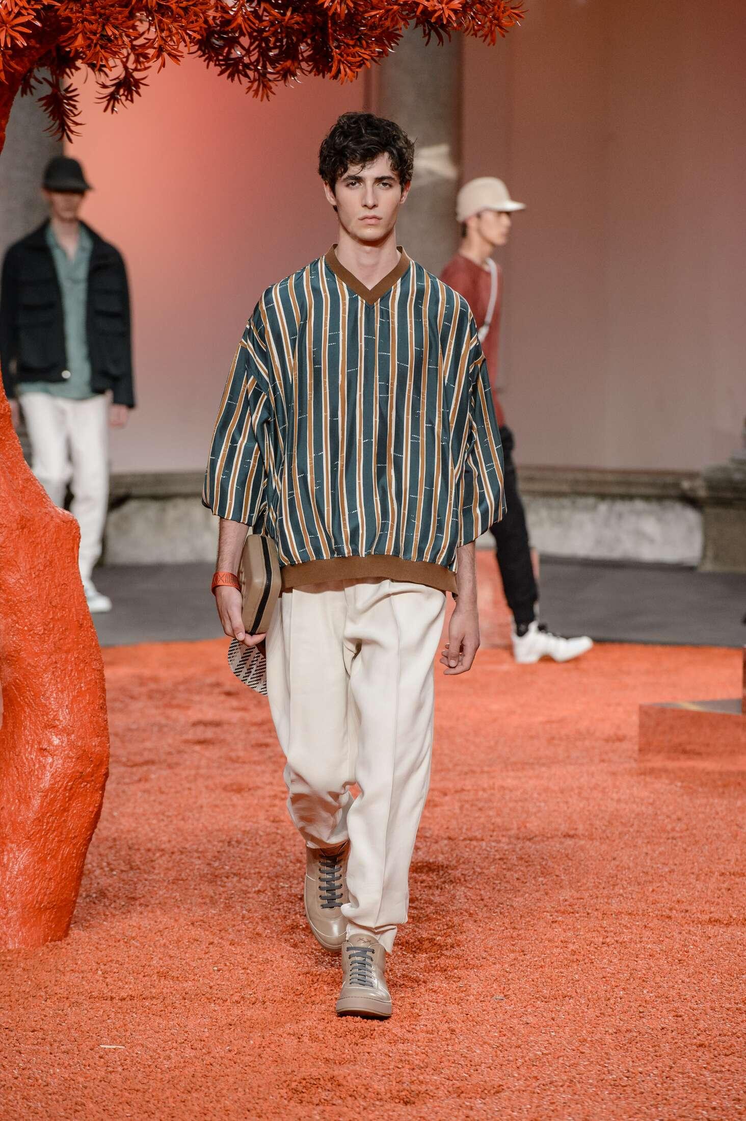 Ermenegildo Zegna Couture SS 2018 Menswear