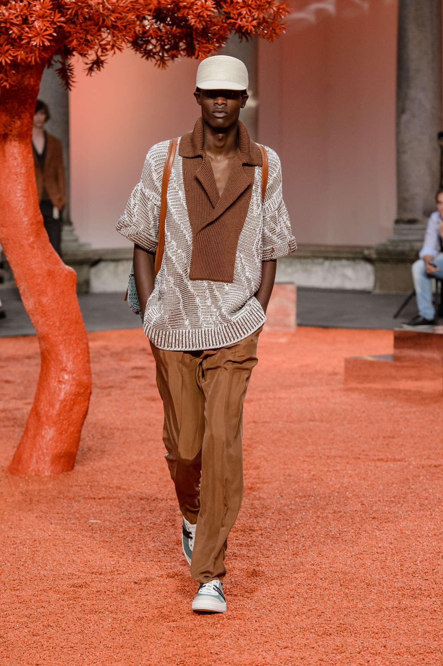 Ermenegildo Zegna Couture Spring Summer 2018 Mens Collection Milan Fashion Week