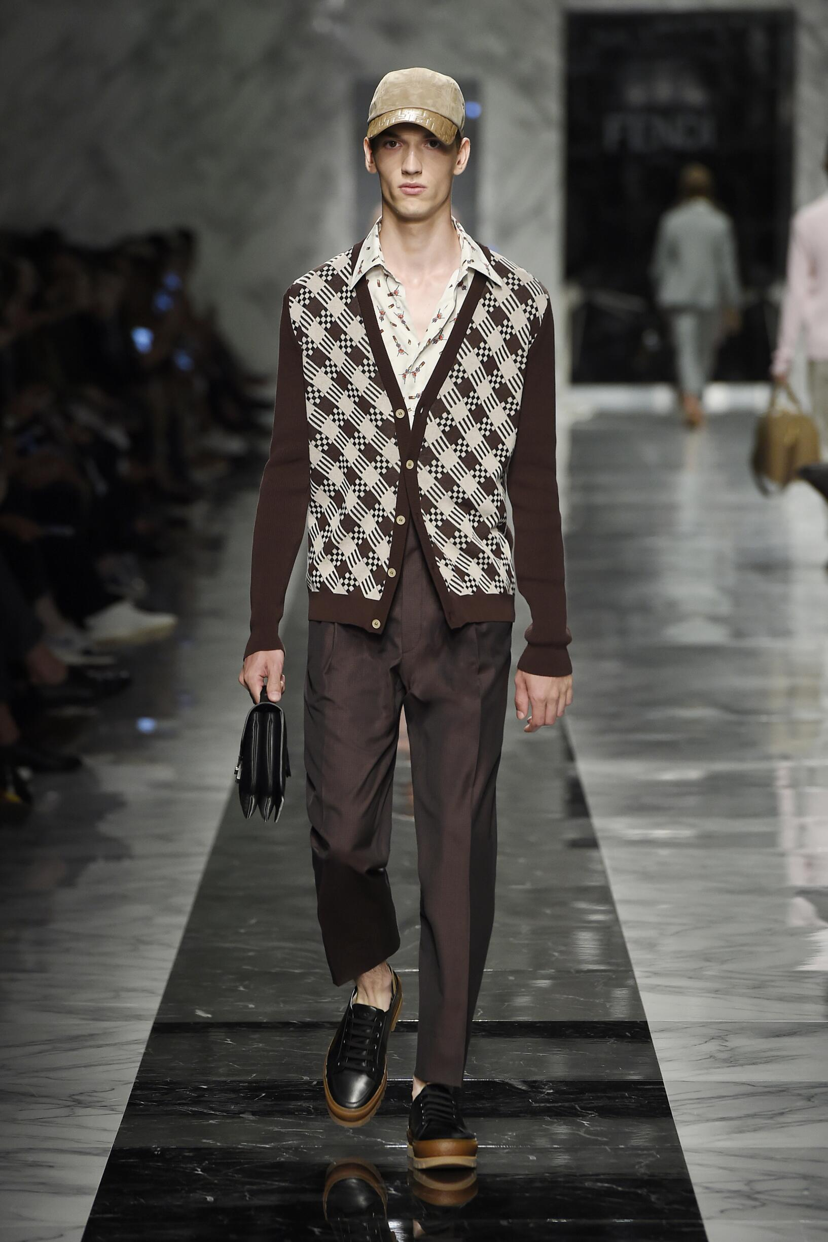 Fashion 2018 Catwalk Fendi