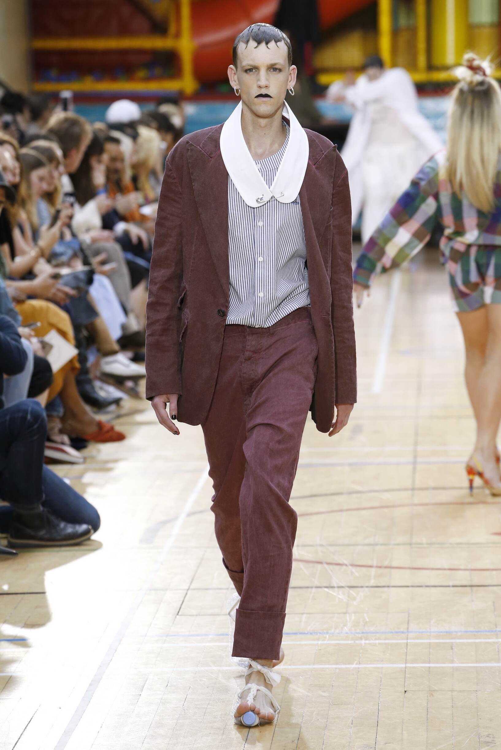 Fashion 2018 Catwalk Vivienne Westwood Summer Mens Collection