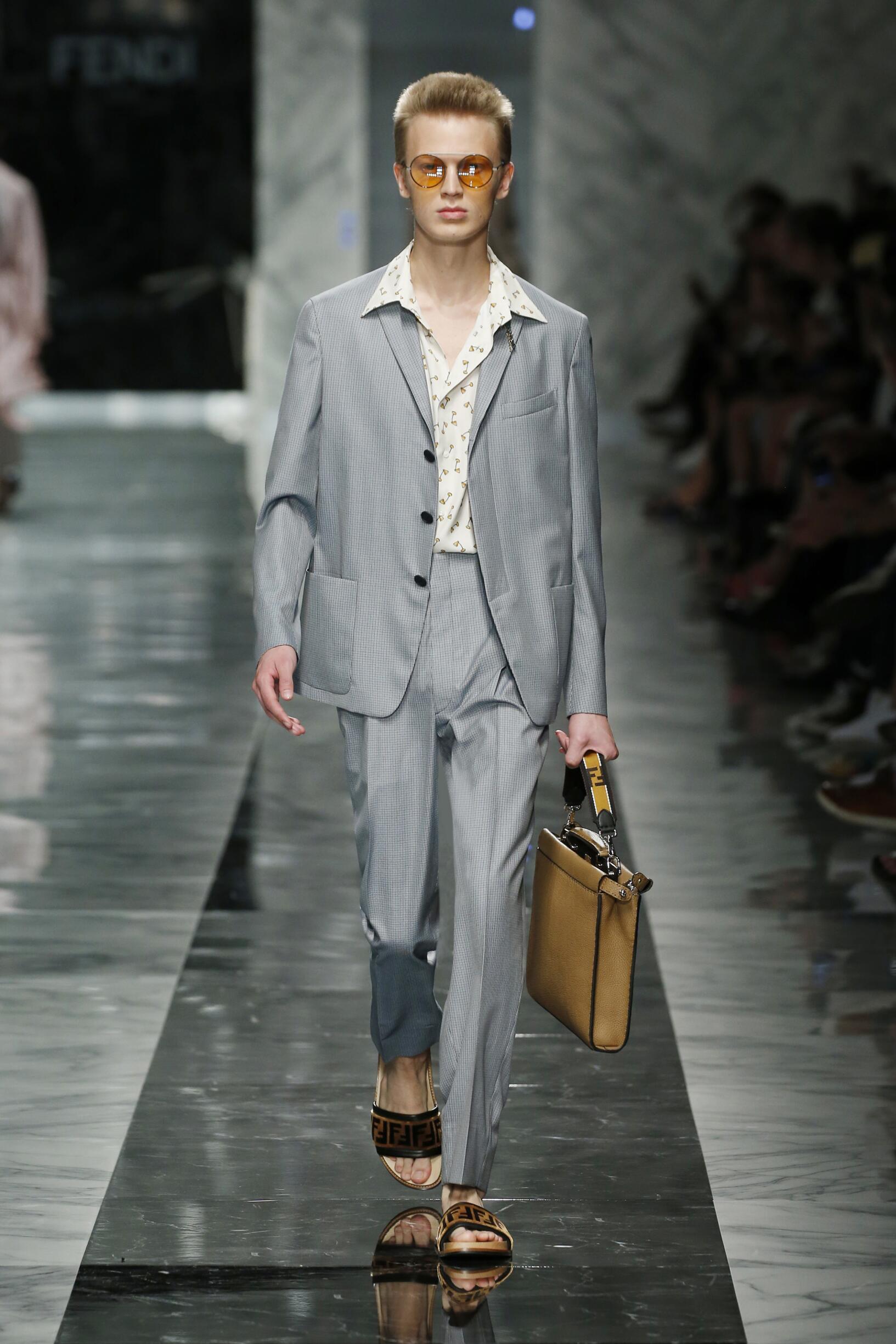 Fashion 2018 Man Style Fendi