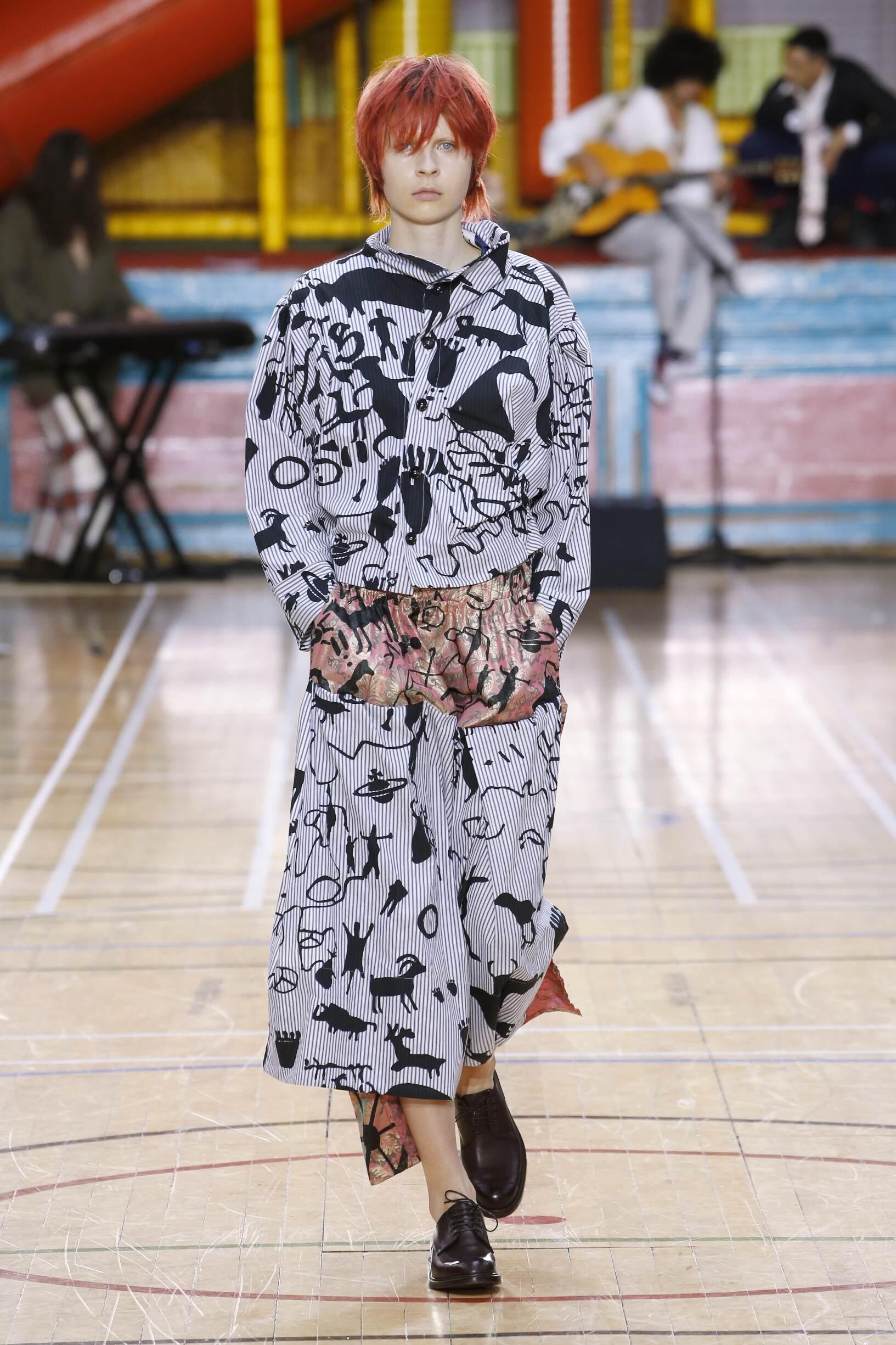 Fashion 2018 Runway Vivienne Westwood Summer