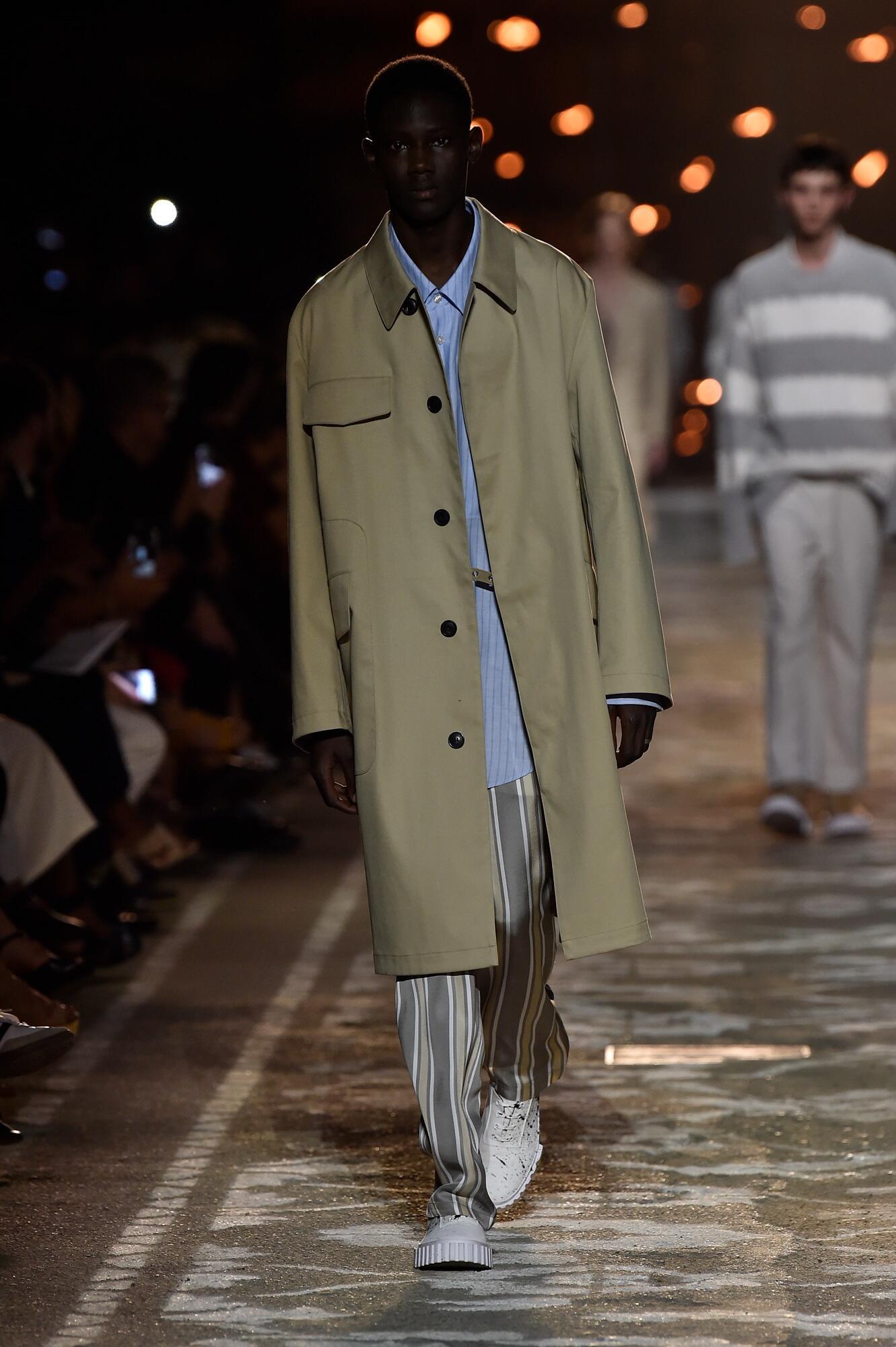 Fashion Man Model Hugo Catwalk
