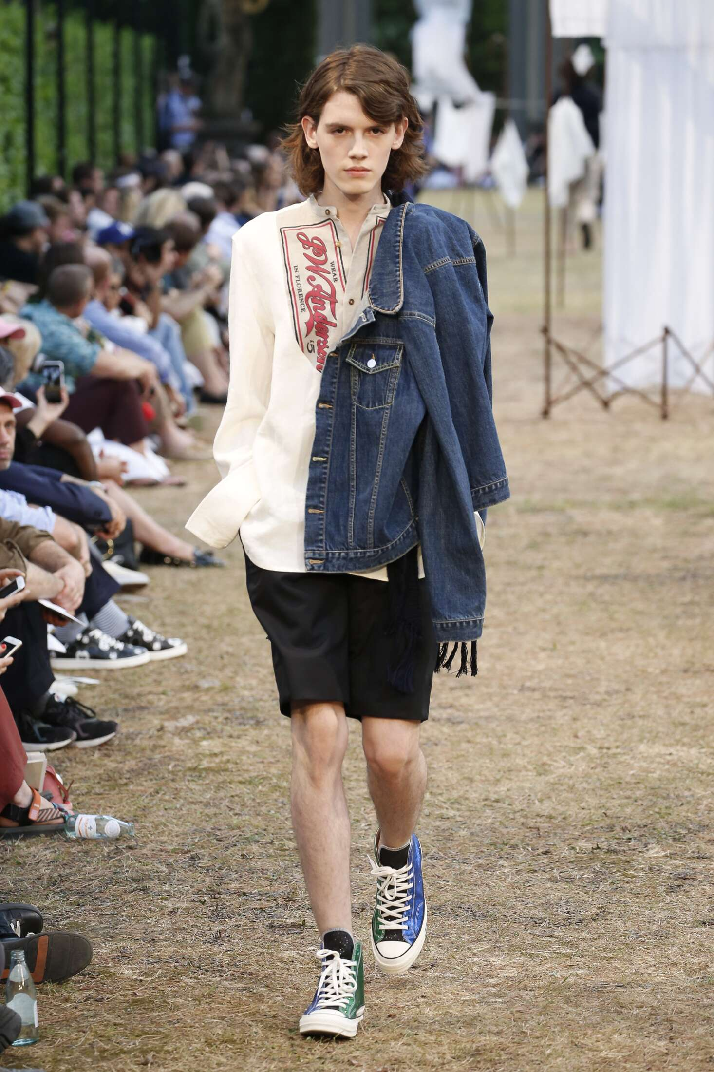 Fashion Man Model J.W. Anderson Catwalk 2018