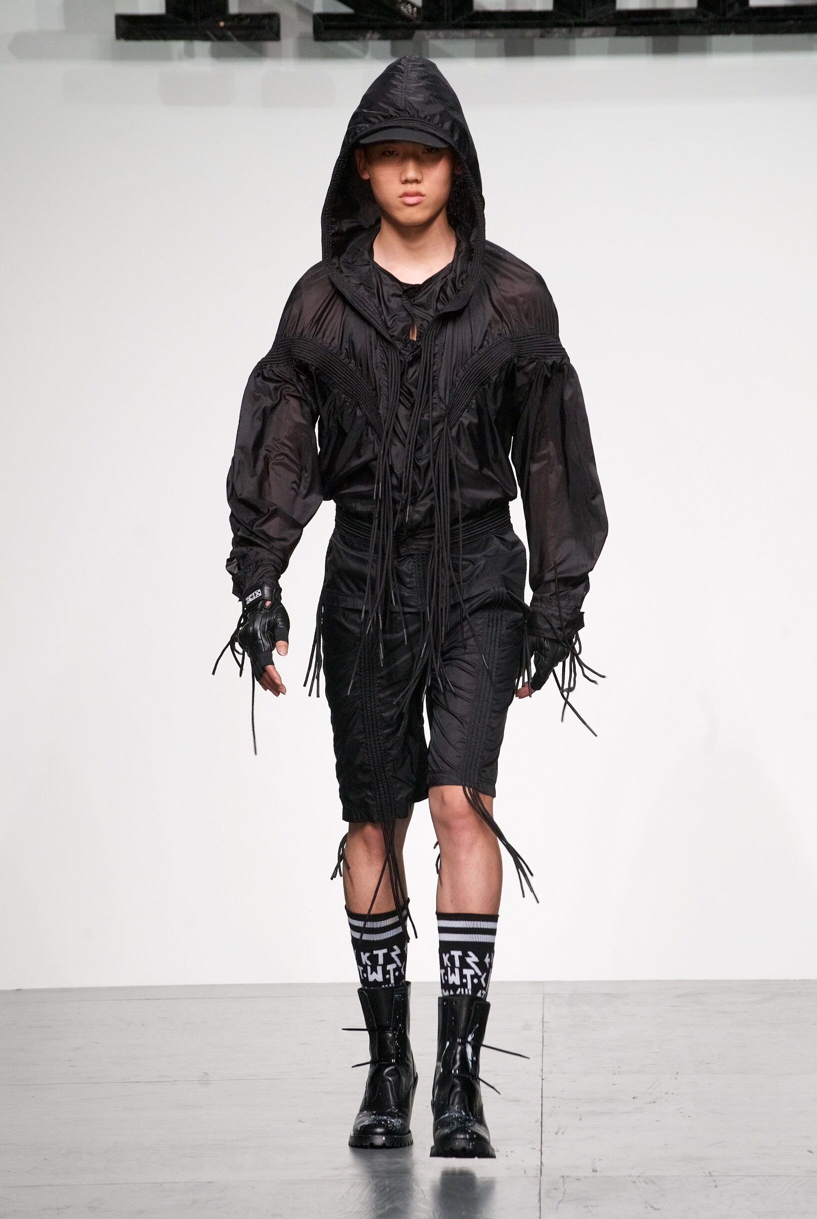 Fashion Man Model KTZ Catwalk 2018