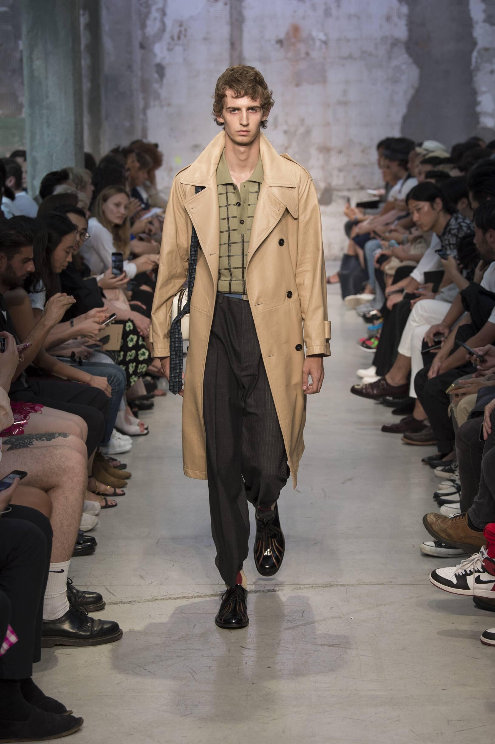 Fashion Man Model Marni Catwalk
