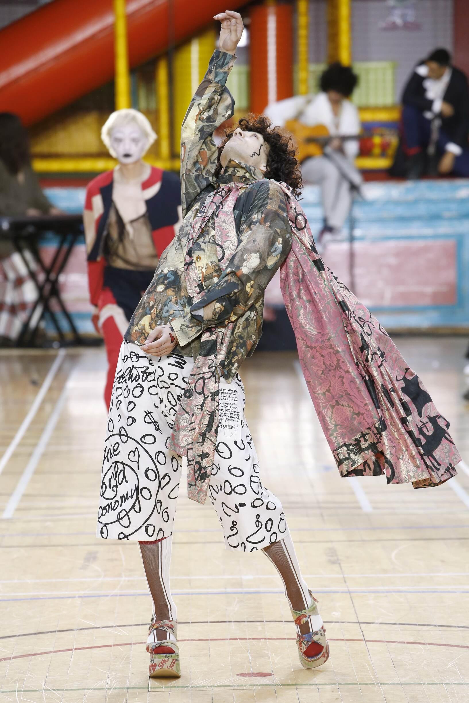 Fashion Week 2018 Catwalk Vivienne Westwood